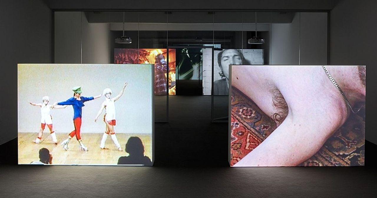 Ed Atkins devised innovative displays Julia Stoschek's gallery in Düsseldorf in 2017 © Simon Vogel