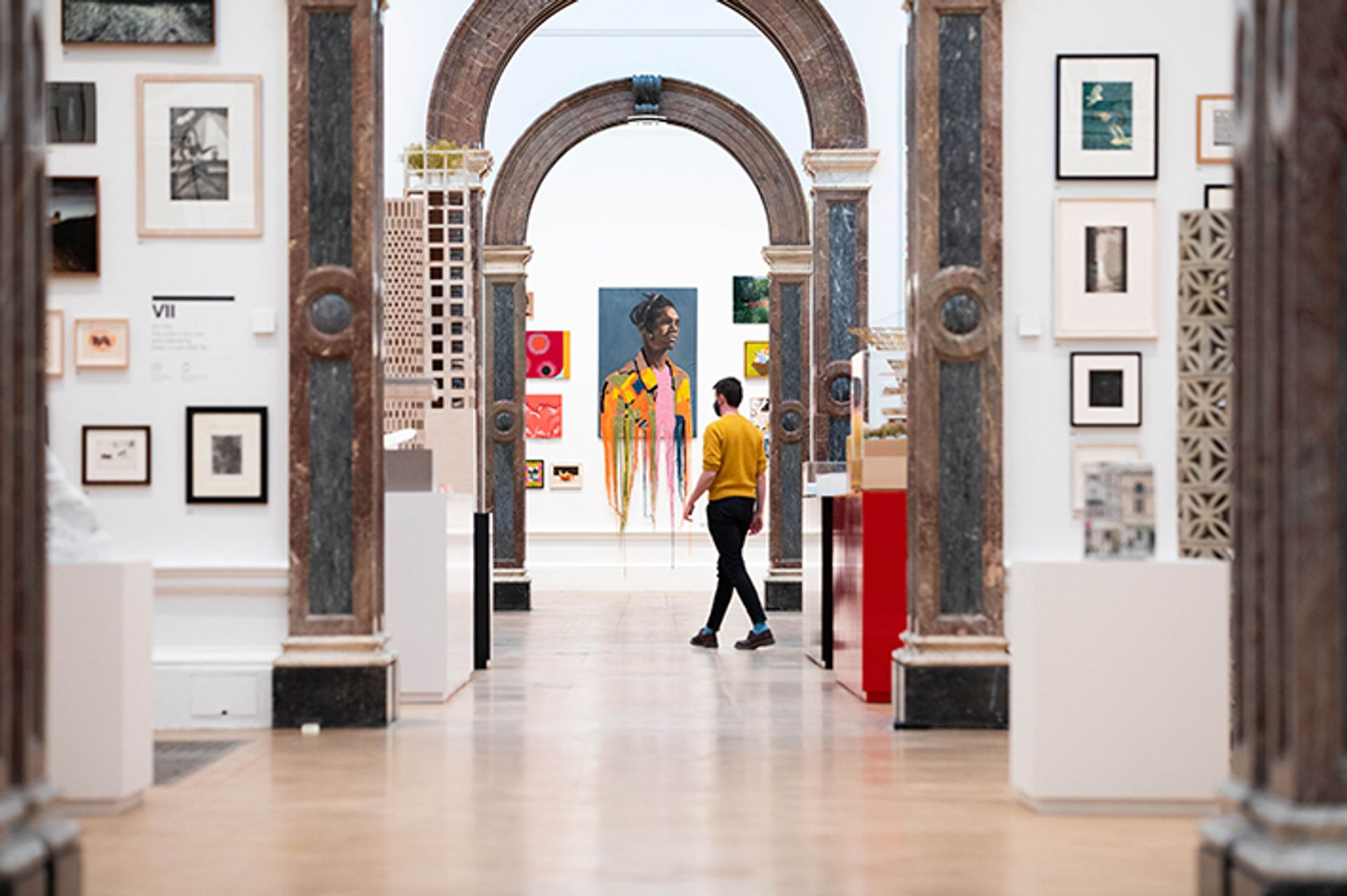 Installation view of the Royal Academy of Arts's Summer exhibition Photo: © Royal Academy of Arts / David Parry