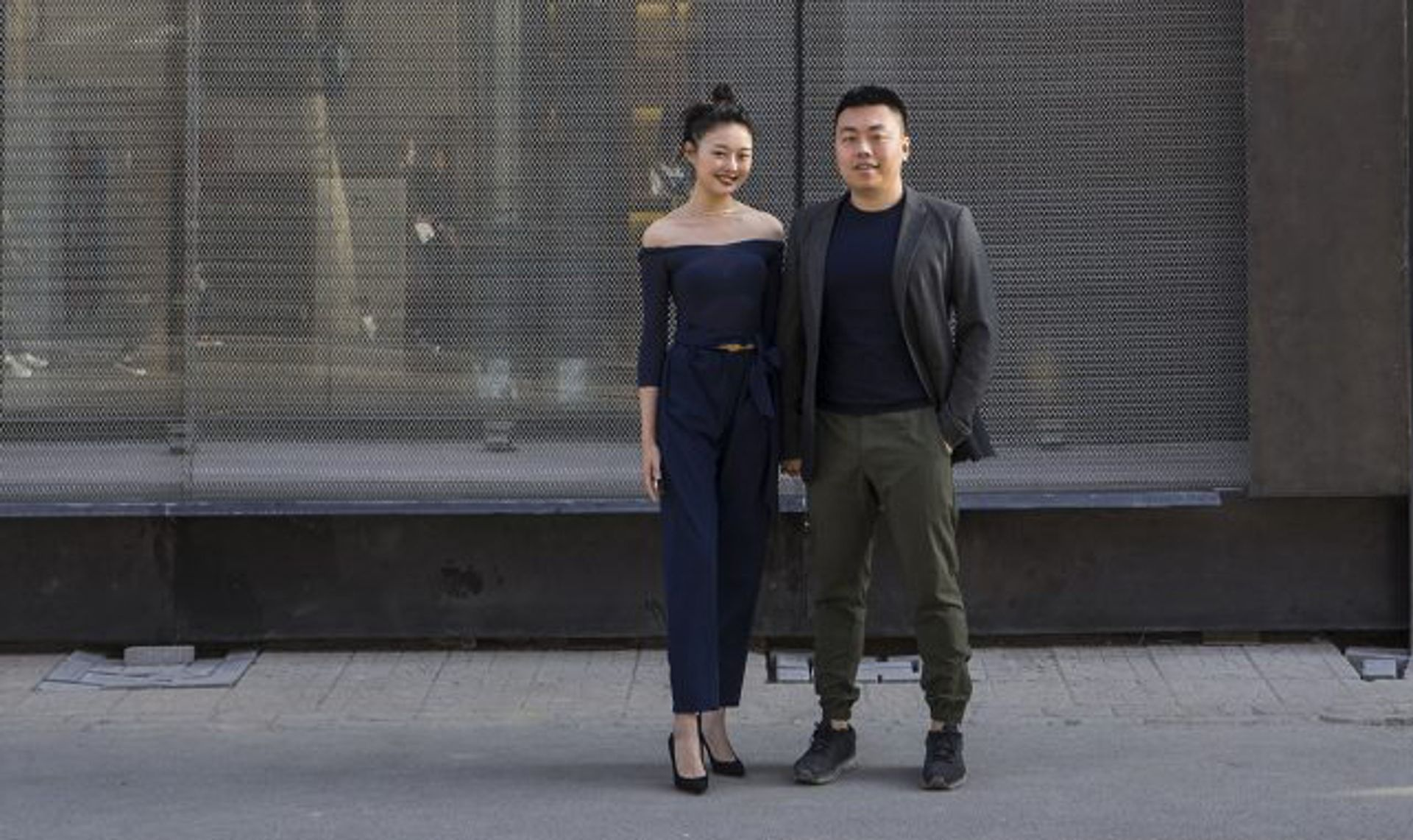 The private collectors Wanwan Lei and Lin Han opened M Woods in 2014 © M Woods