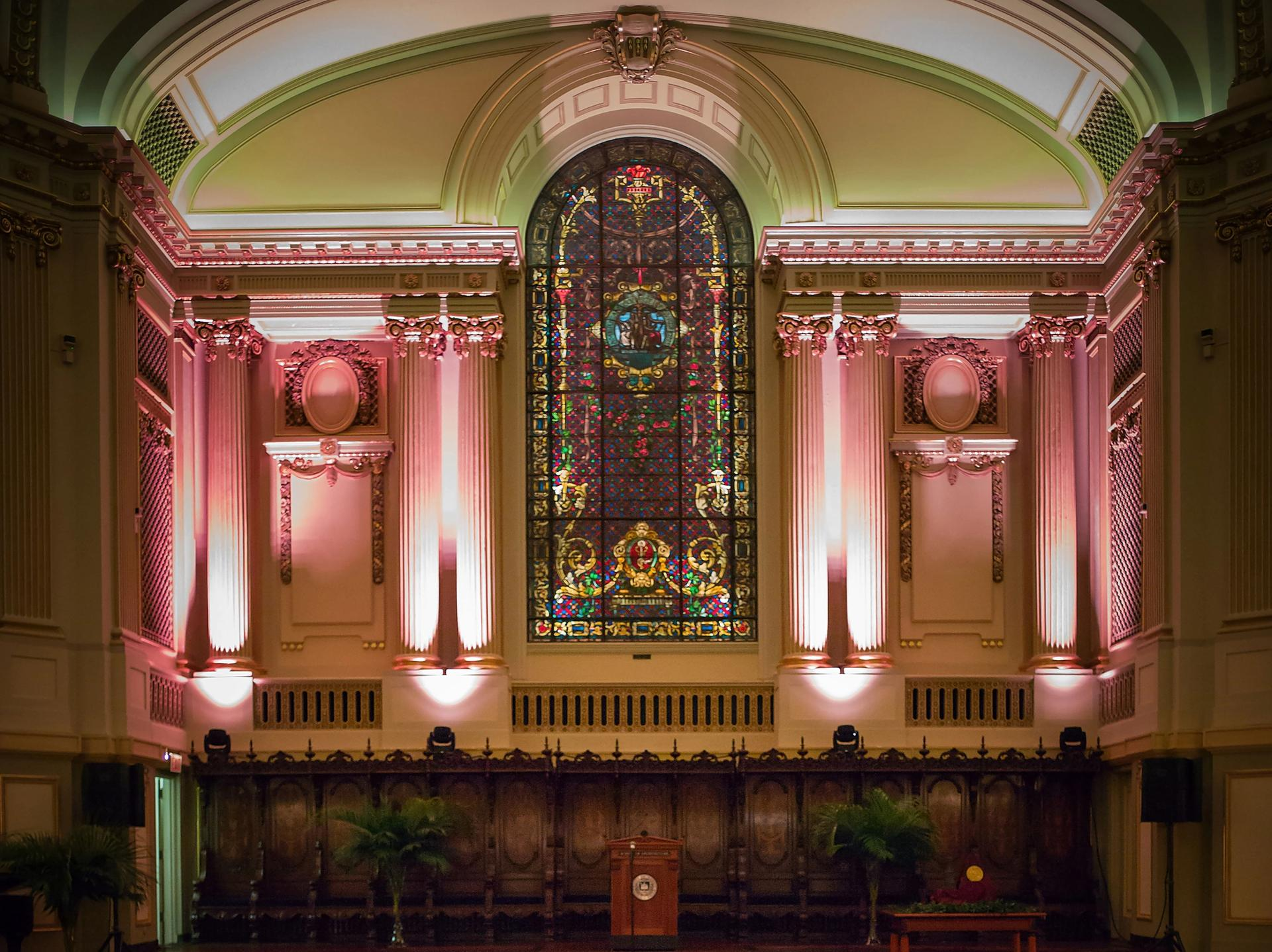 Inside the Murphy Auditorium Photo: Allen Bourgeois