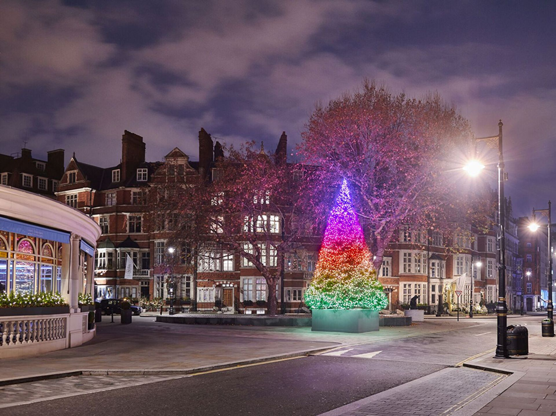 The Connaught Christmas Tree 2018 Courtesy of the Connaught