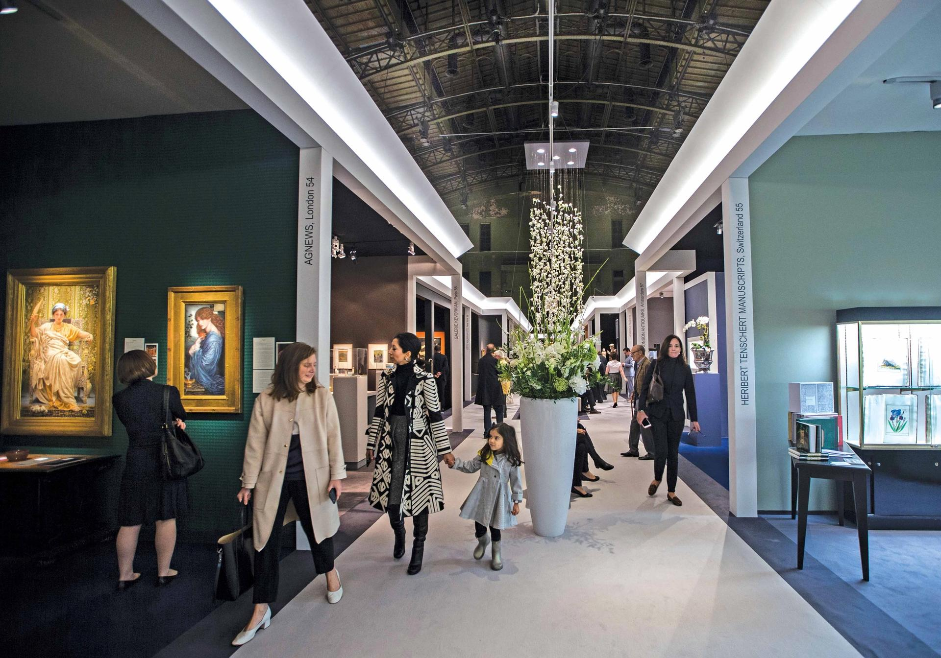 Tefaf's first New York fair in October 2016 Harry Heuts Photography
