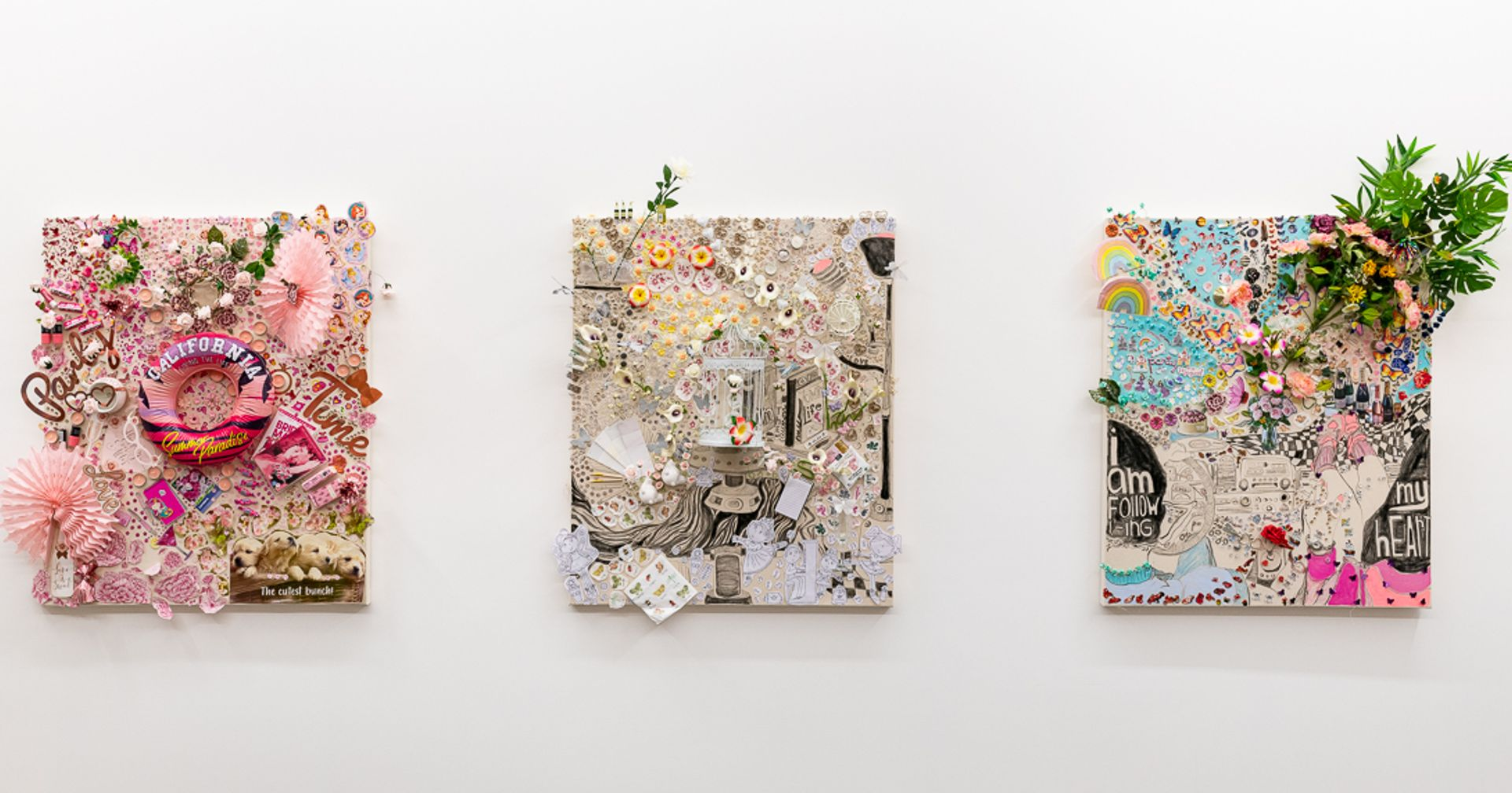 Installation view, Gretchen Andrews: Other Forms of Travel (2021) Courtesy of the artist and Annka Kultys Gallery