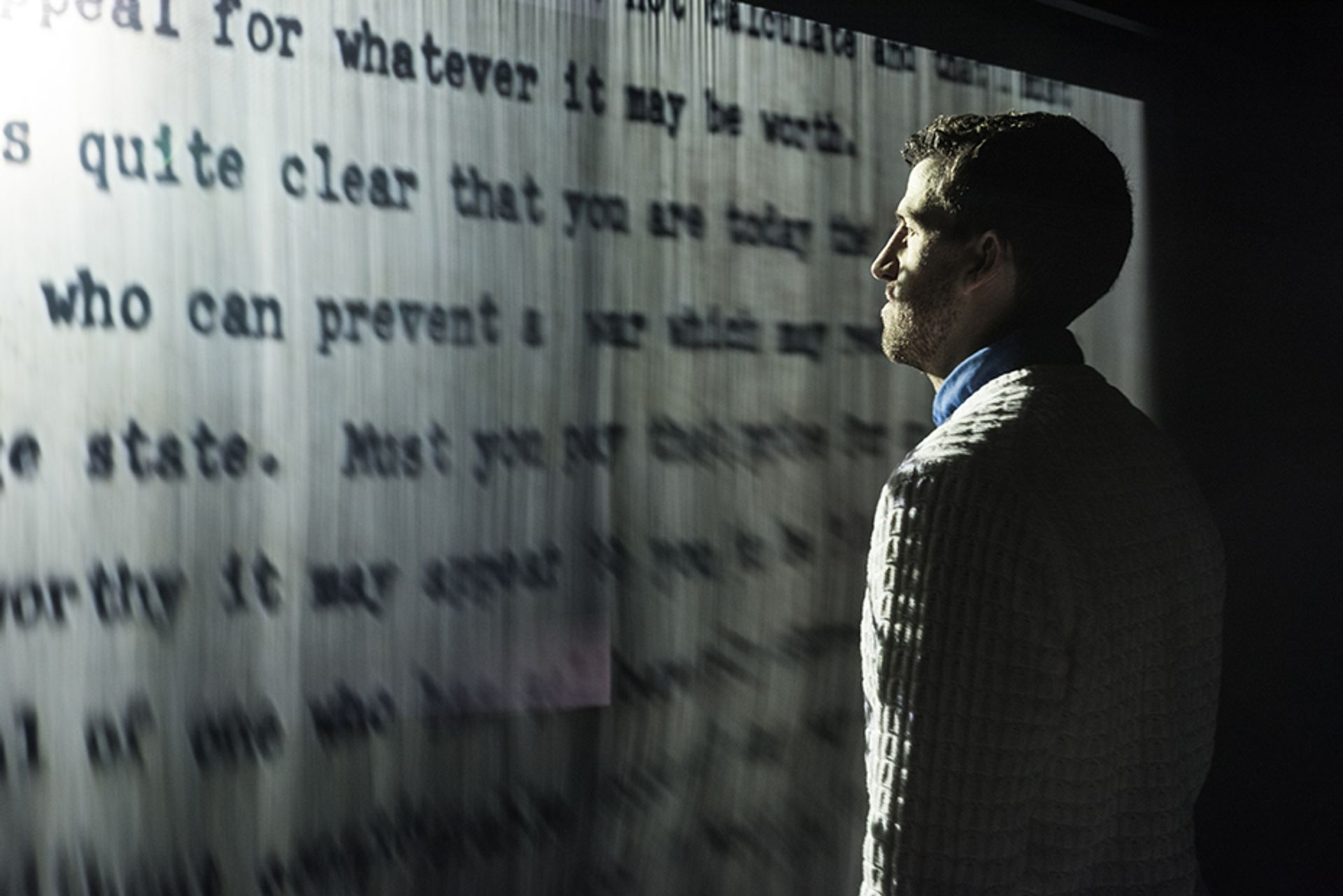 Jitish Kallat's Covering Letter (2012) will appear in India's pavilion Courtesy of artist and Philadelphia Museum of Art