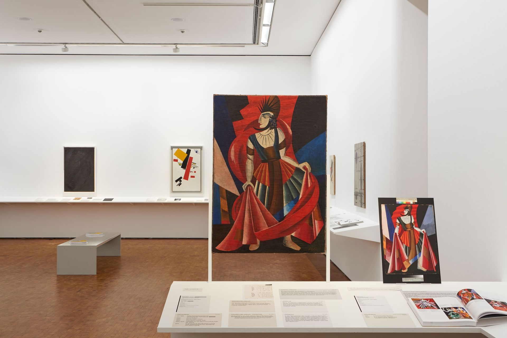 A new exhibition at the Museum Ludwig in Cologne sheds light on the prevalence of fake Russian avant-garde art works Photo: Rheinisches Bildarchiv Köln / Chrysant Scheewe