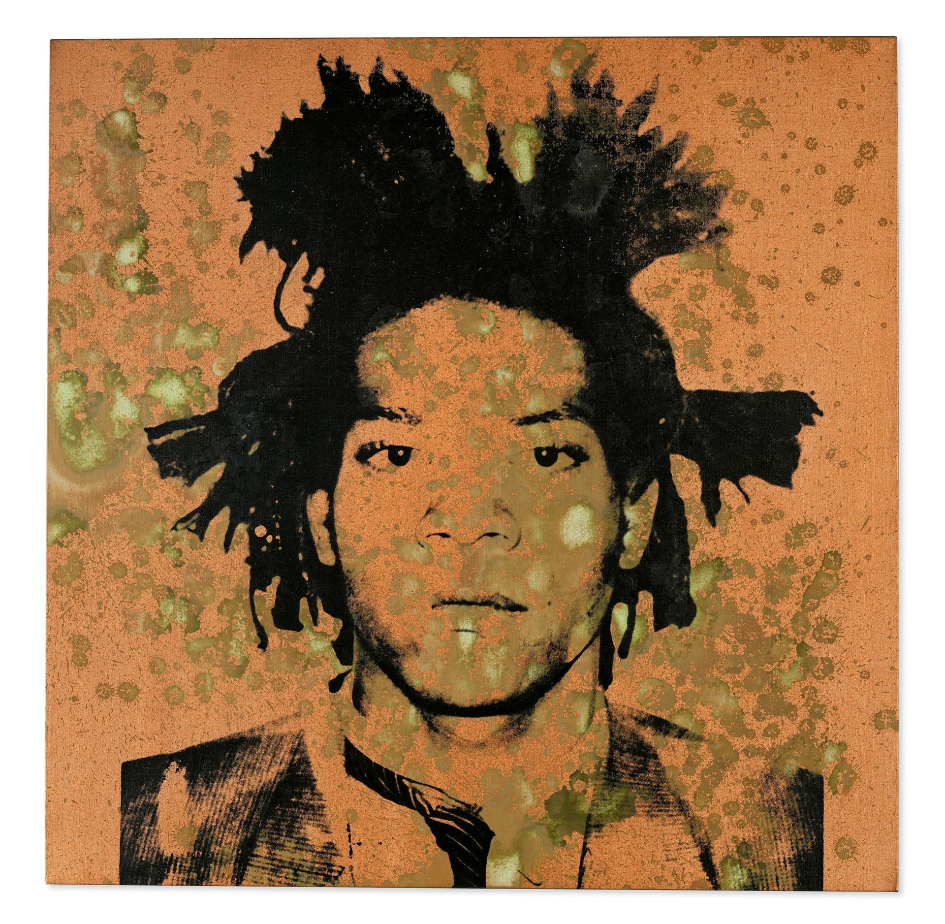 Jean-Michel Basquiat, 1982 © Andy Warhol, courtesy Christie's Images Ltd. 2021
