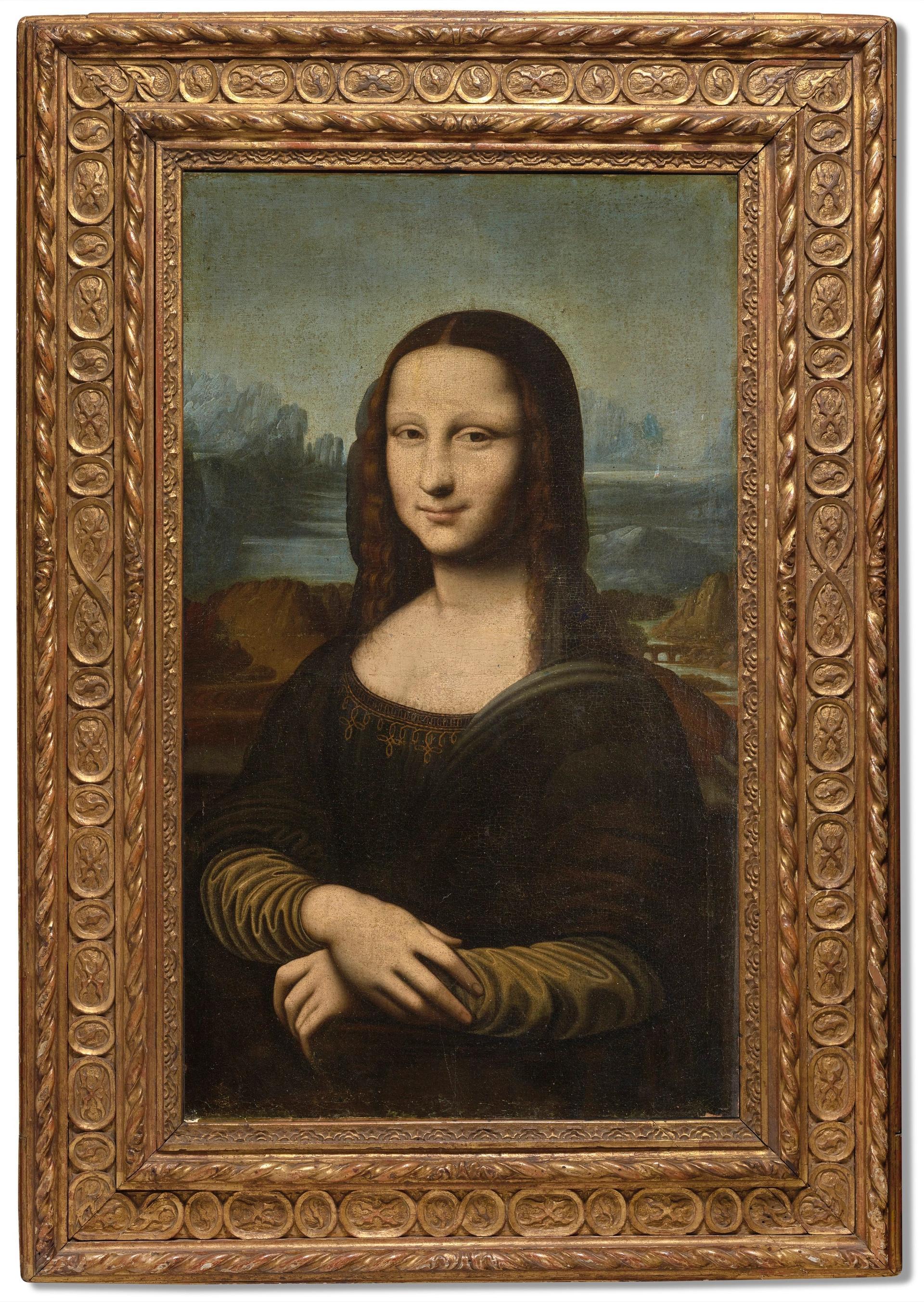 Hekking Mona Lisa courtesy Christie's