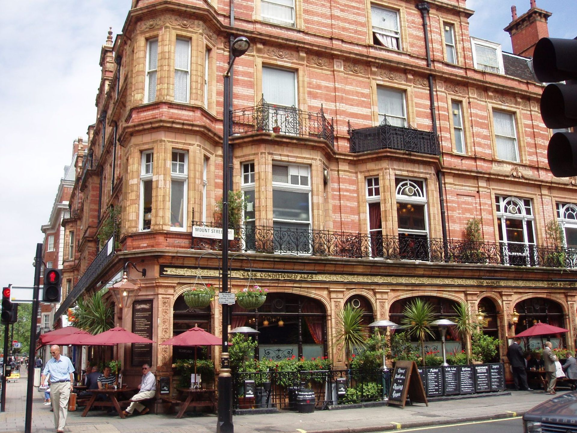 Mount Street in Mayfair, London Photo: Ewan Munro / Flickr