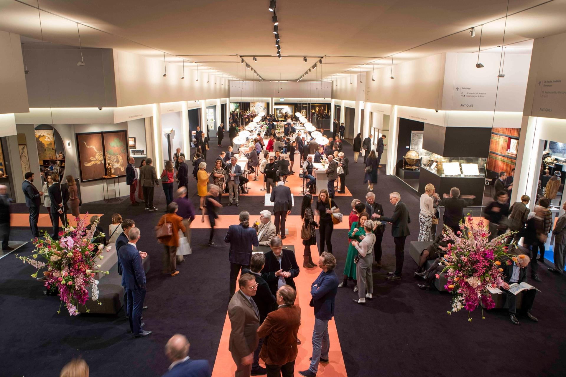 The 33rd edition of Tefaf Maastricht has been forced to close early due to coronavirus Courtesy of Tefaf Maastricht