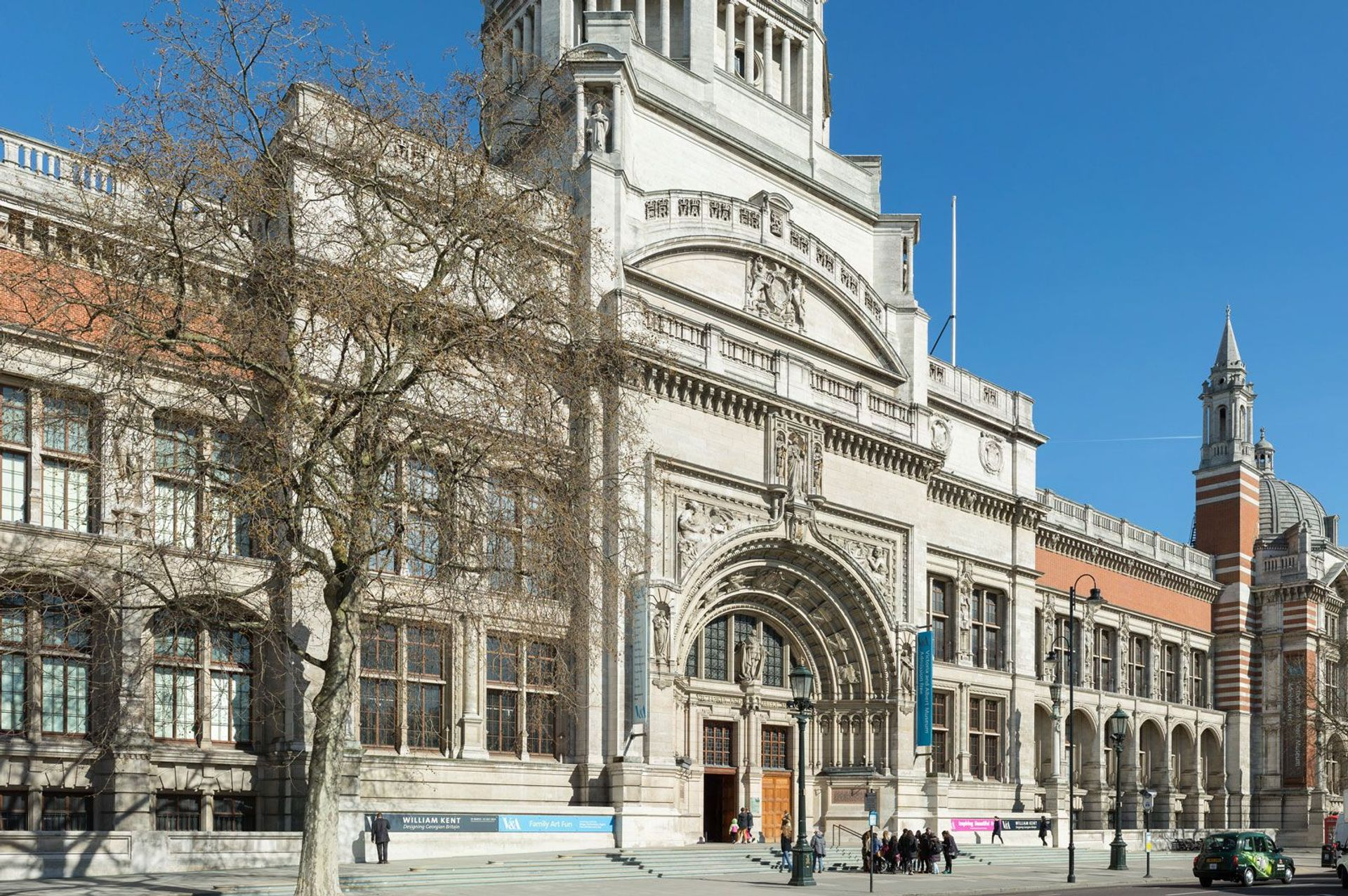 The Victoria and Albert Museum in London Photo: David Iliff; License: CC BY-SA 3.0
