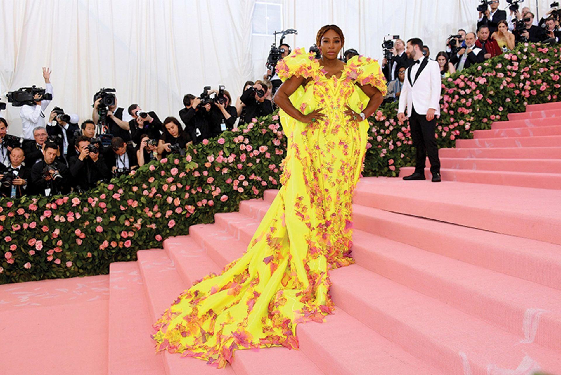 Serena Williams at the Met Gala in 2019 Photo: Dia Dipasupil/FilmMagic