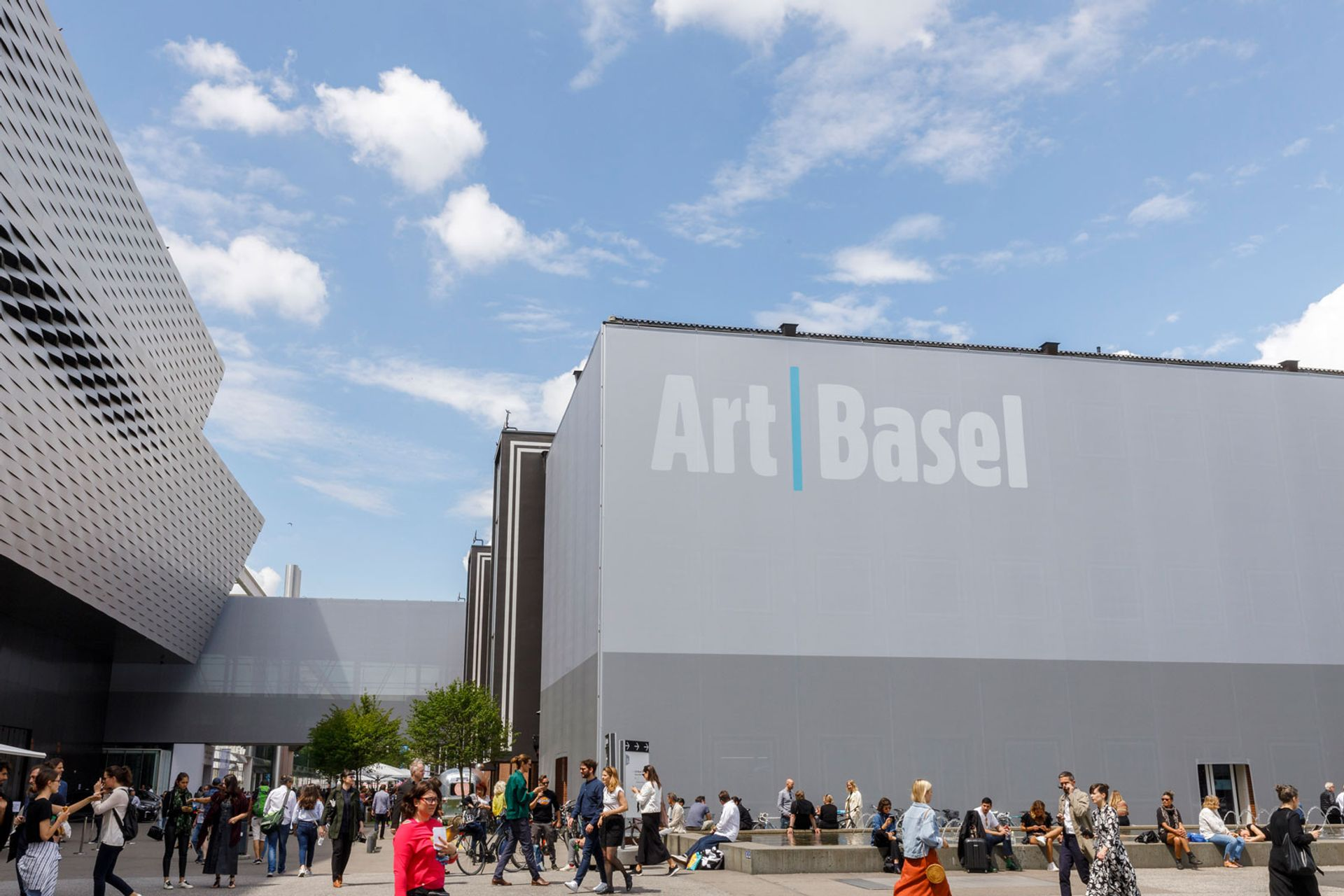 The Art Basel fair has been postponed to the autumn because of the coronavirus pandemic © Art Basel