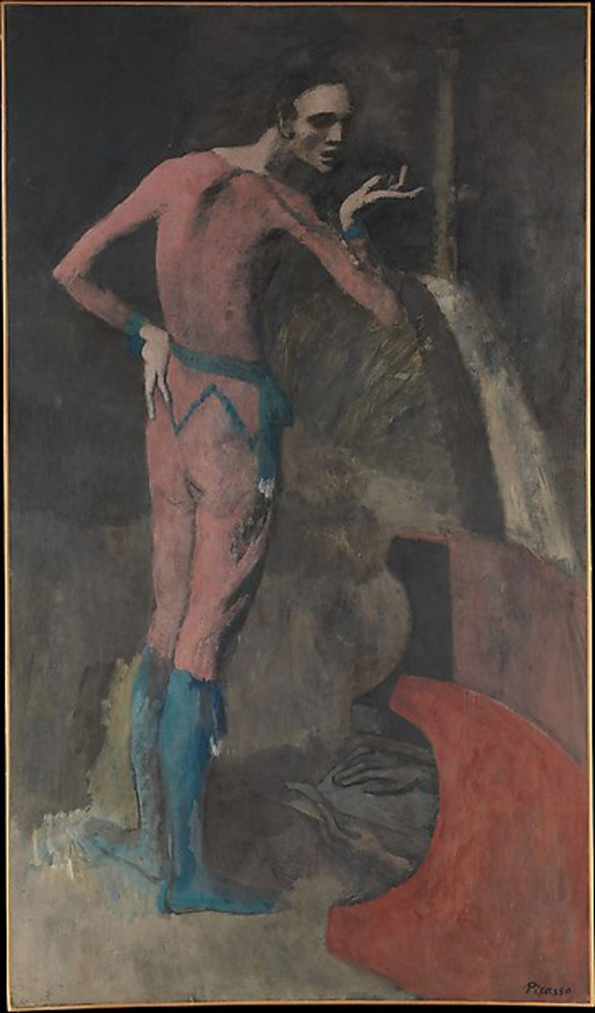 Pablo Picasso, The Actor (1904-05) 2018 Estate of Pablo Picasso / Artists Rights Society (ARS), New York
