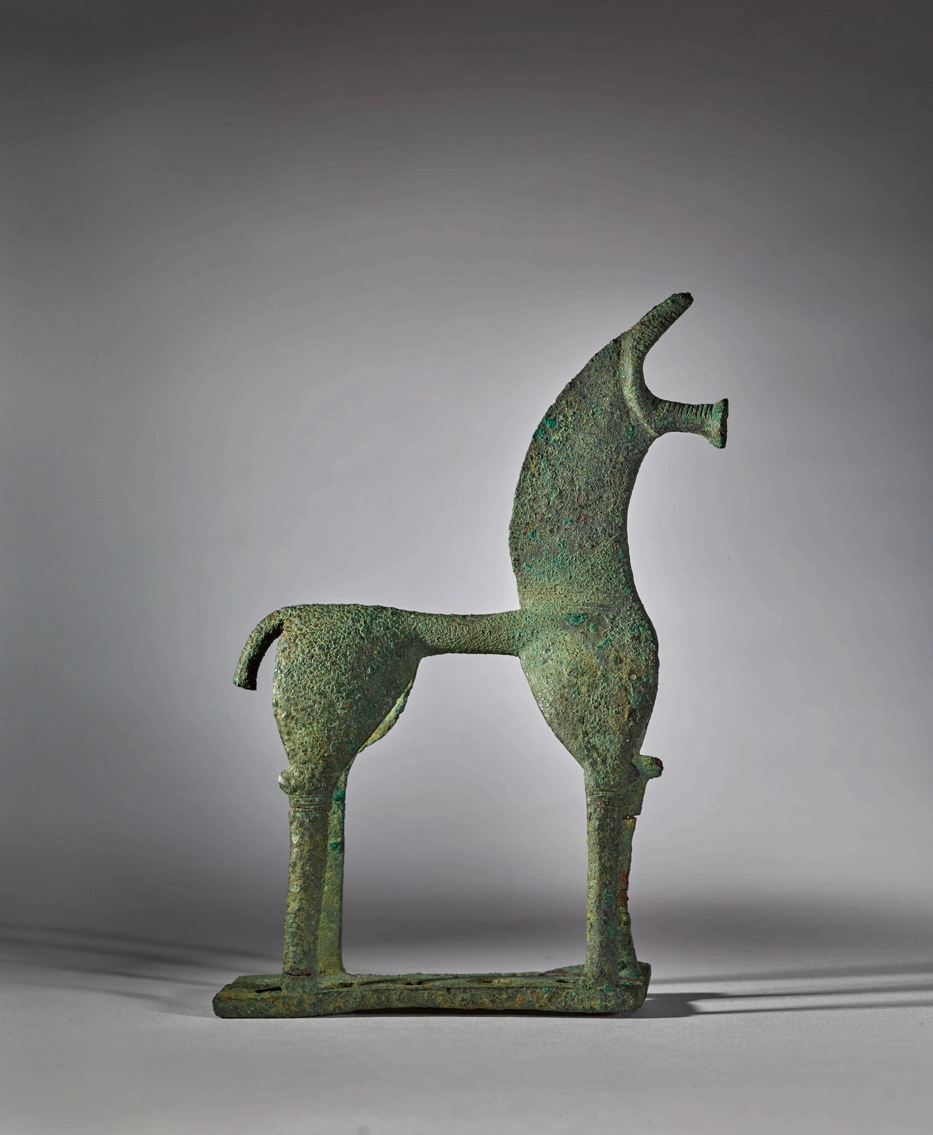 The ancient bronze horse was withdrawn from sale after Greece demanded its return, but now Sotheby's is fighting back Sotheby's