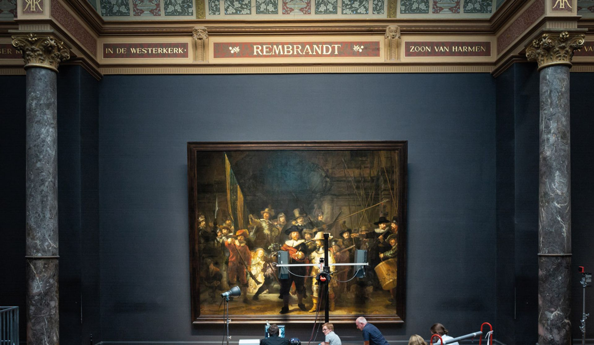 The Night Watch Courtesy of the Rijksmuseum