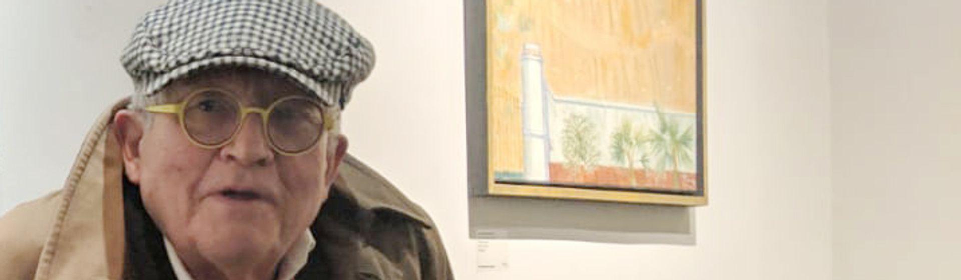 David Hockney Photo: David Clack