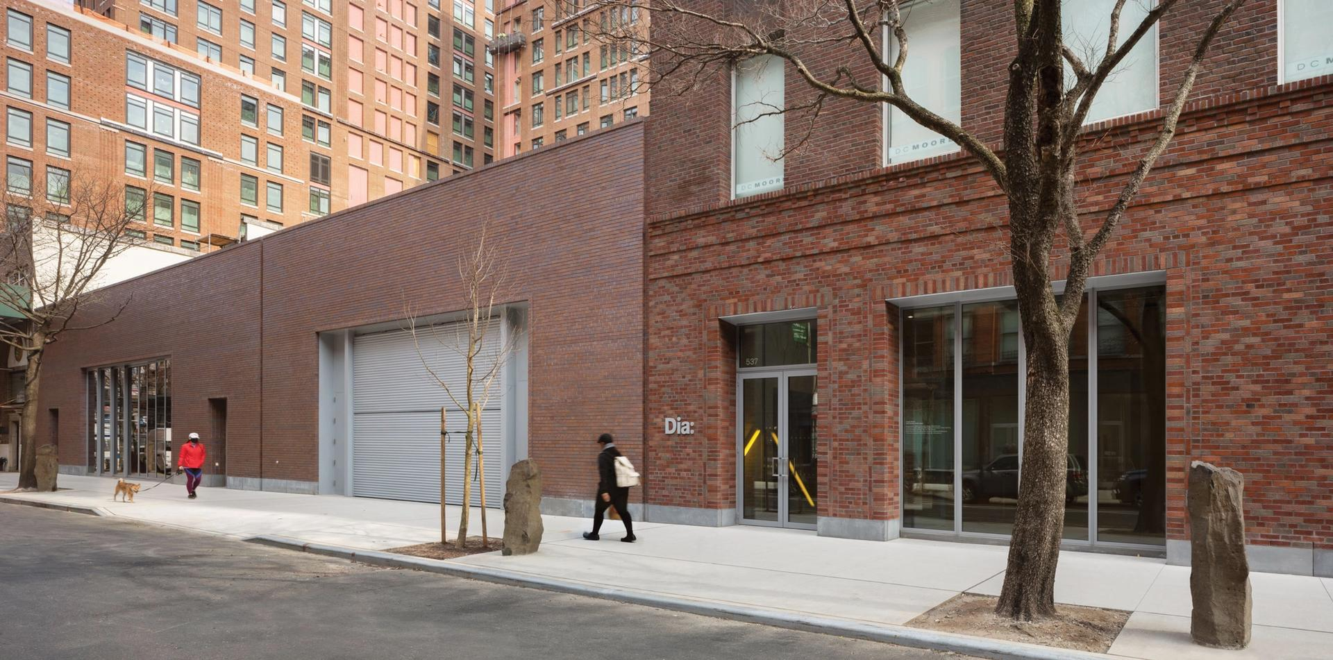 Dia reopened in Chelsea, after a two-year renovation Photo: Elizabeth Felicella, courtesy of Dia
