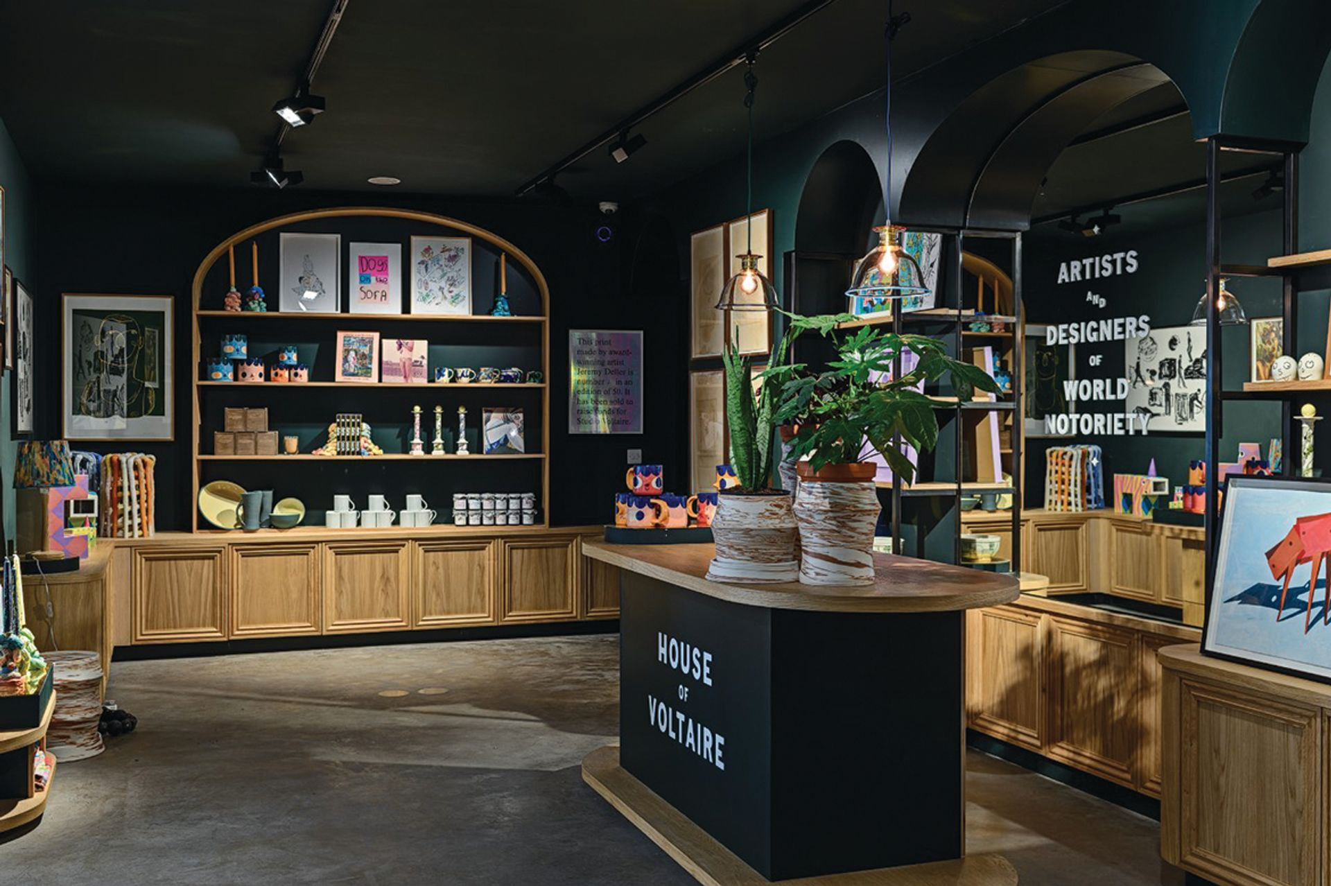 House of Voltaire, Studio Voltaire's design shop, gets a permanent home on the renovated site after using pop-up venues across London over the past few years. Courtesy Studio Voltaire
