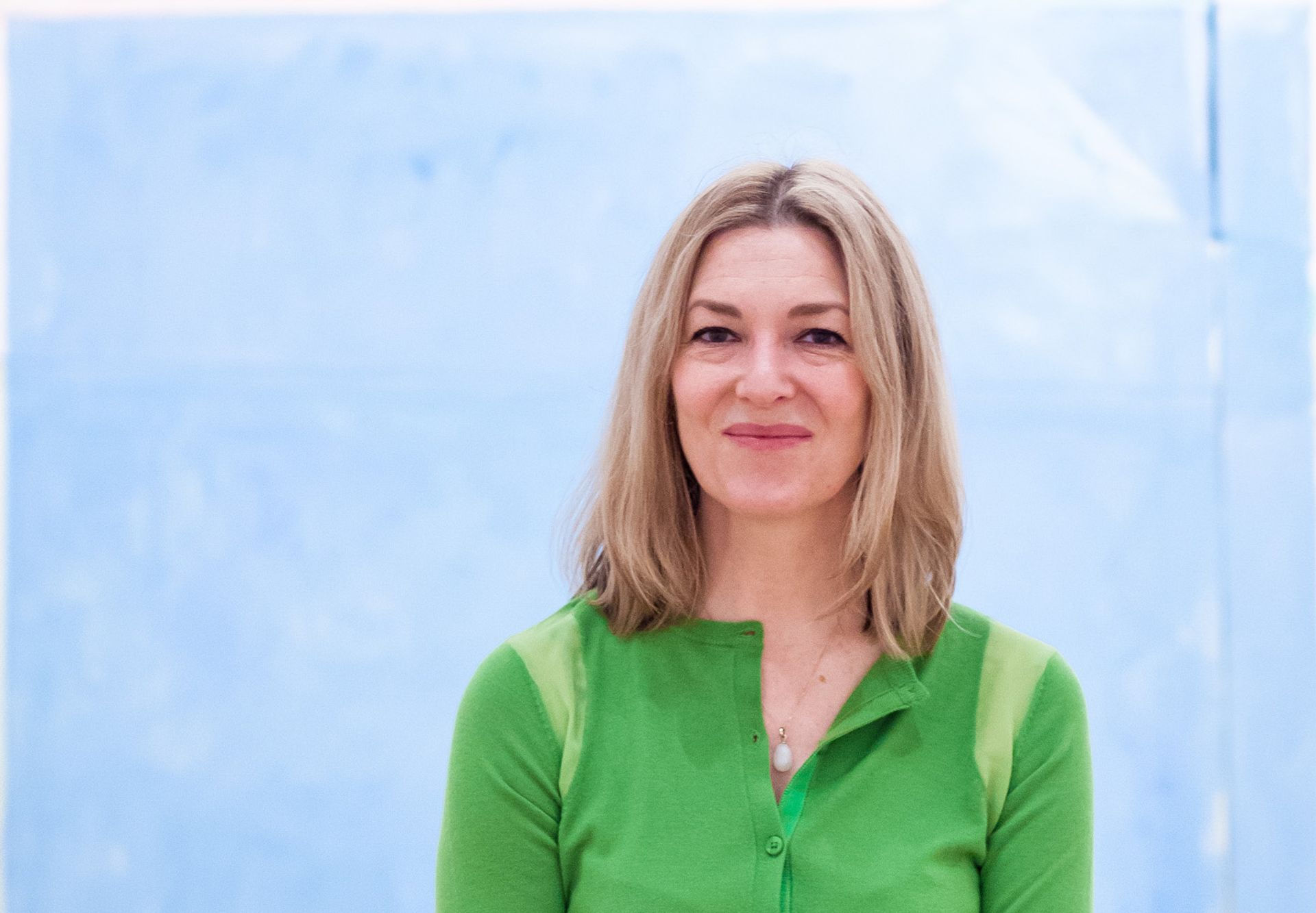 Edith Devaney has been appointed David Hockney's new managing director and curator © Benedict Johnson