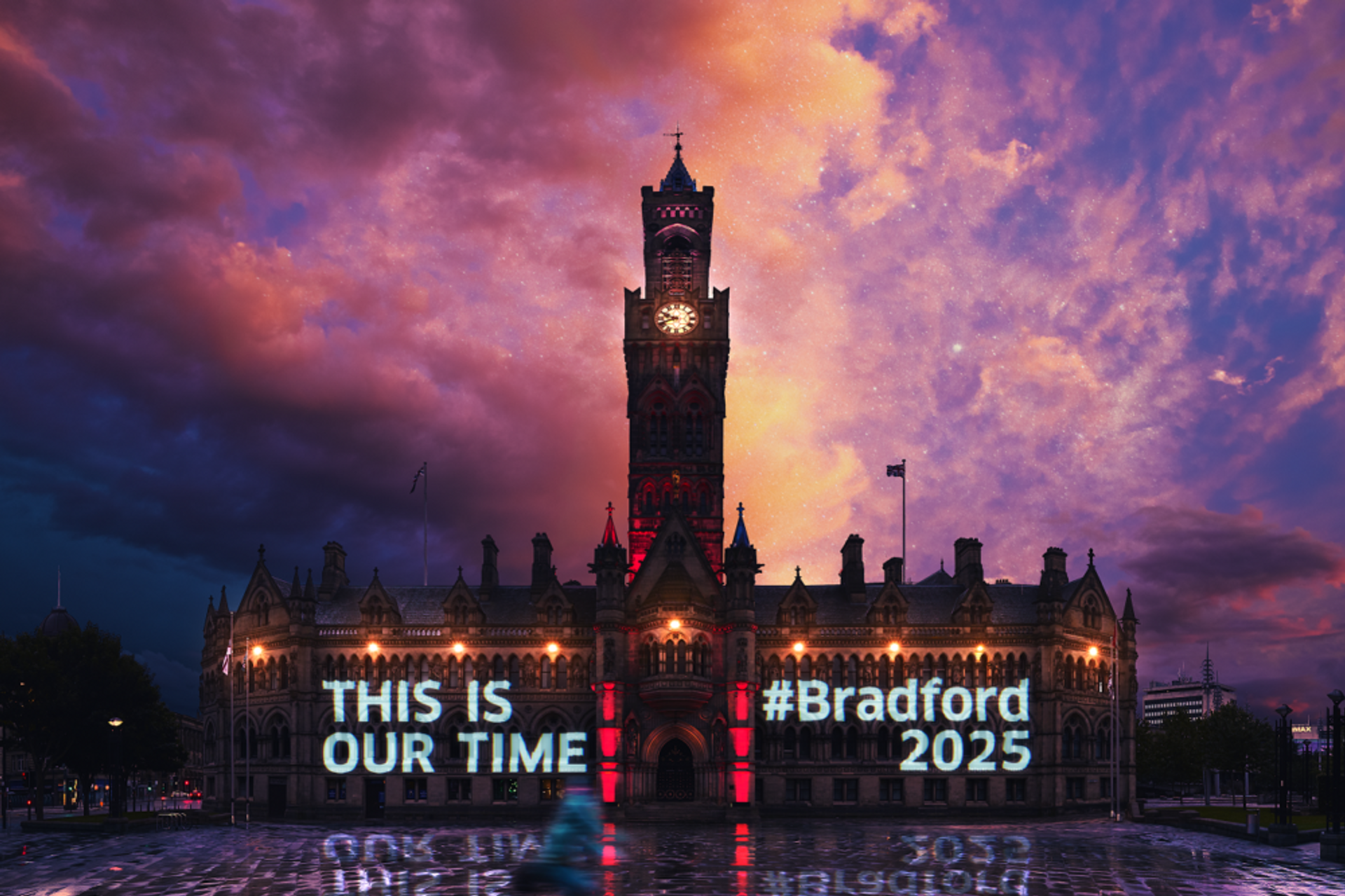 Bradford has been longlisted for the title of UK City of Culture 2025. Courtesy of Bradford 2025