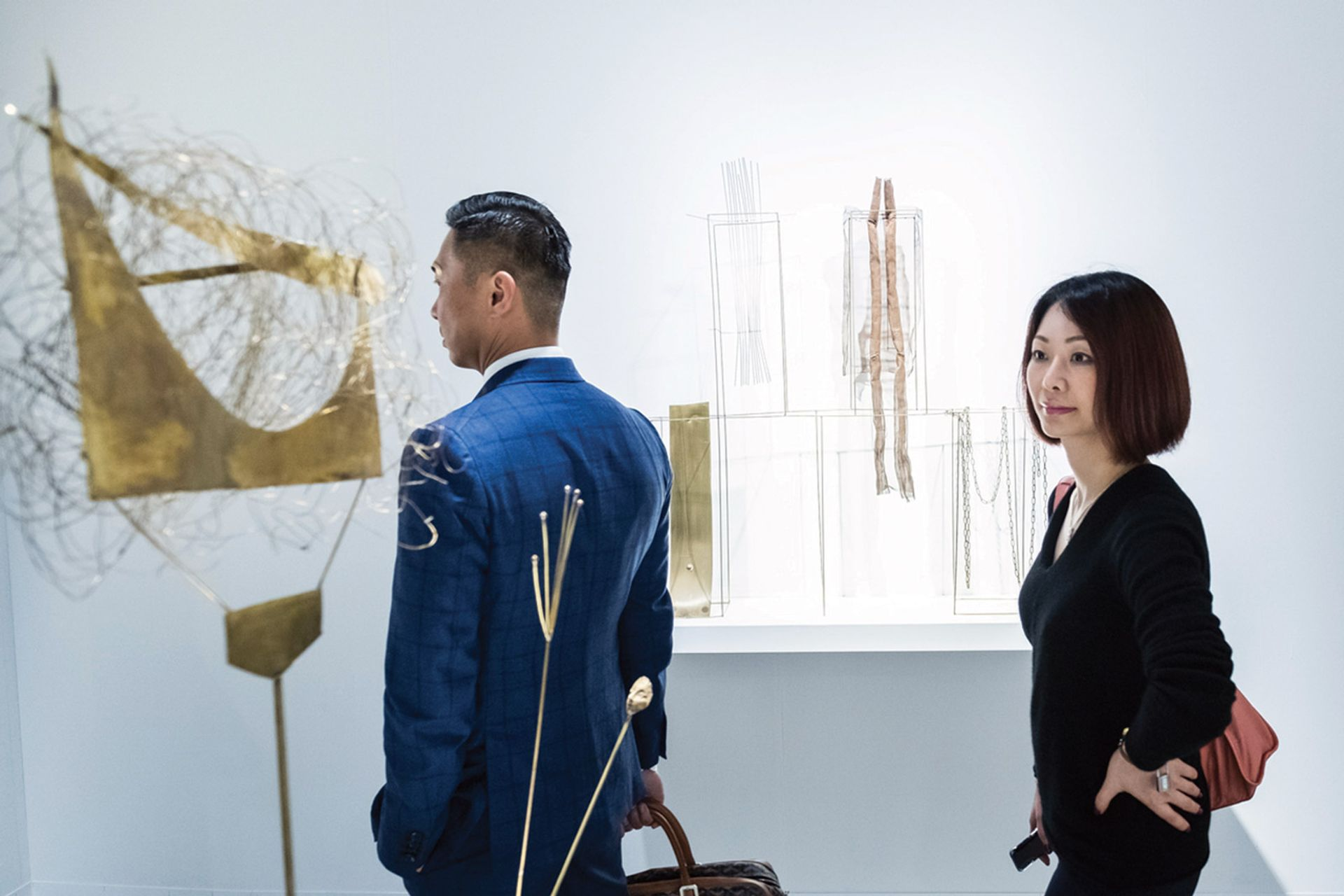 Art Basel in Hong Kong will open in the Hong Kong Convention and Exhibition Centre from 21 May Fausto Melotti at Mazzoleni,  Art Basel Hong Kong 2018 © Art Basel