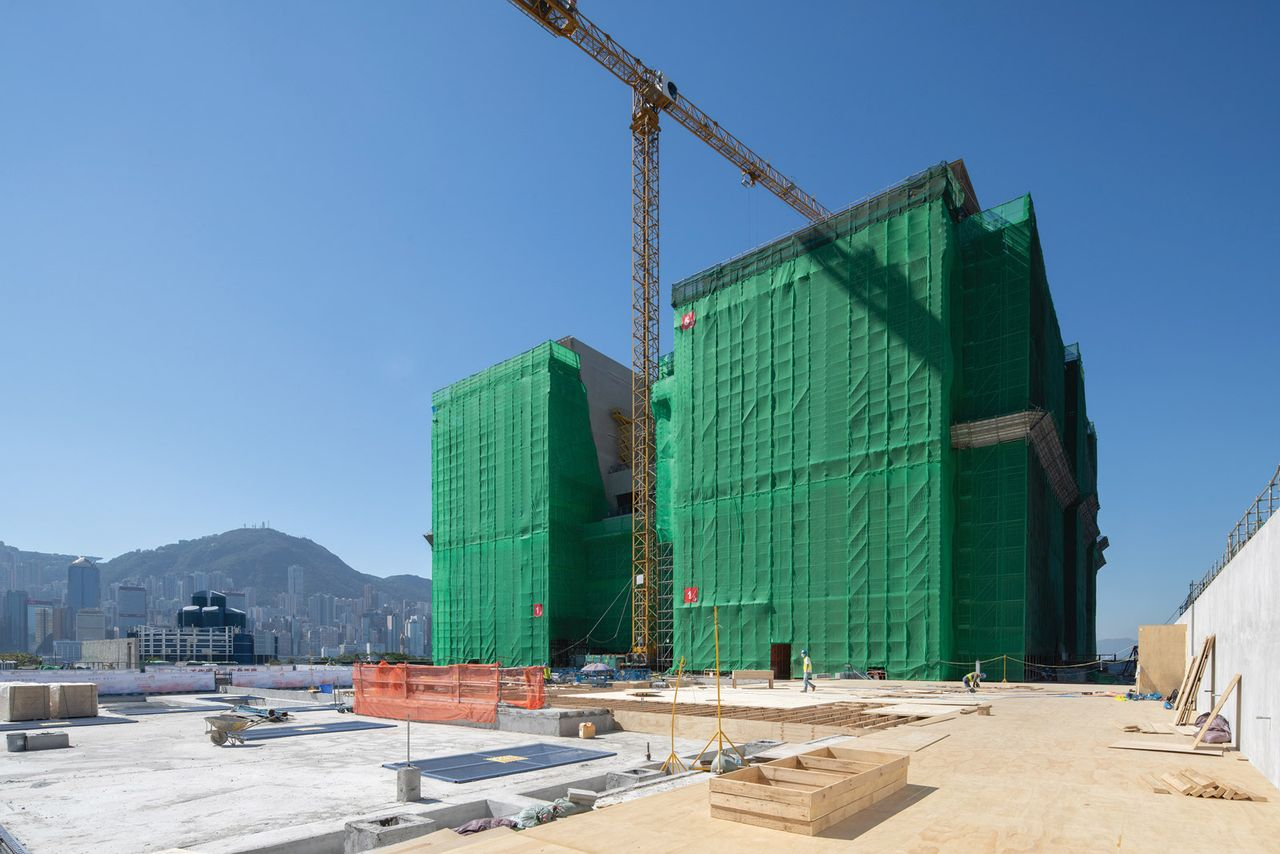 The museum under construction in the West Kowloon Cultural District aims to relate Chinese national treasures to modern life Courtesy of the Hong Kong Palace Museum