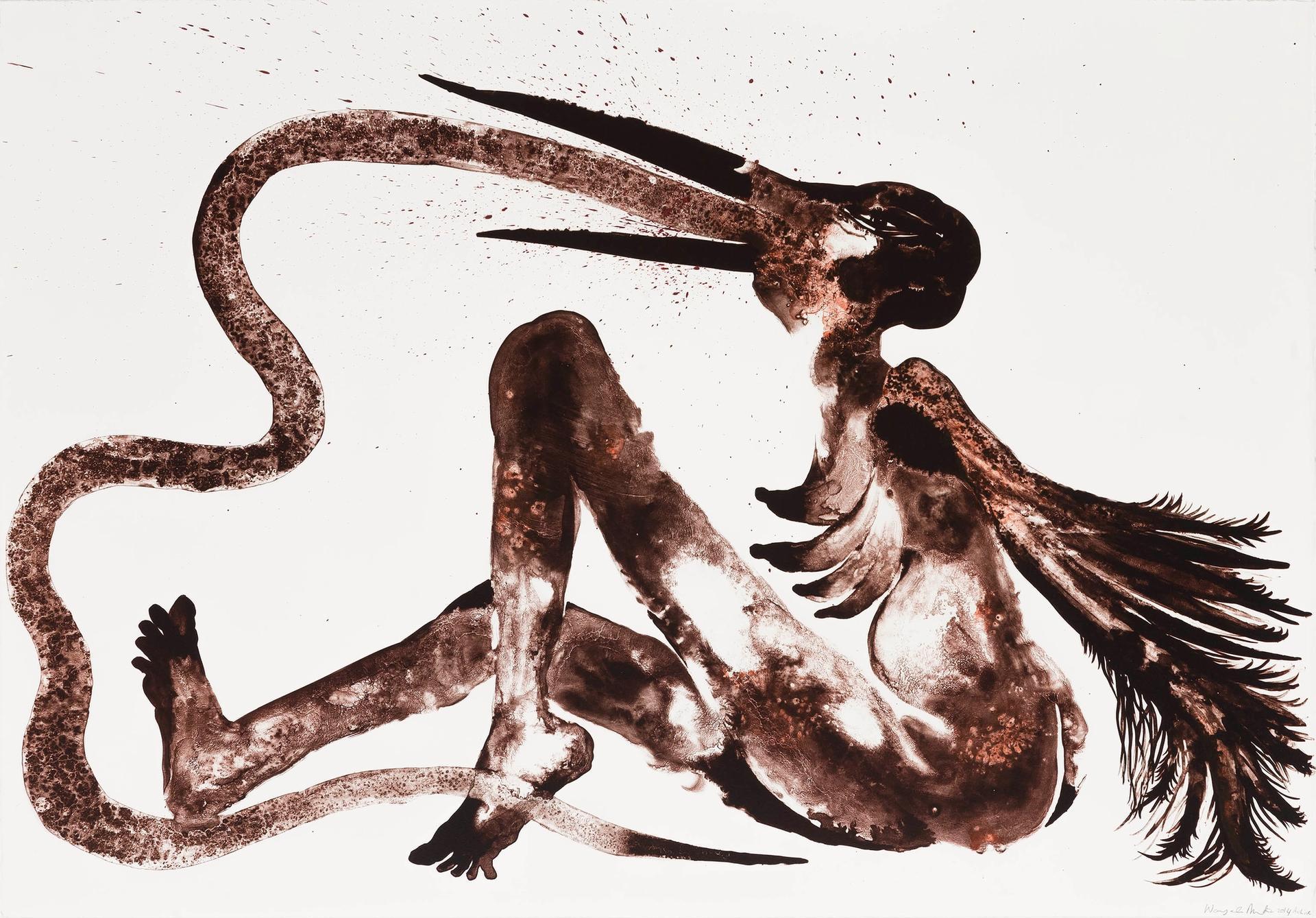 Wangechi Mutu's Snake Eater (2014) Photo: Lars Gundersen © Edition Copenhagen
