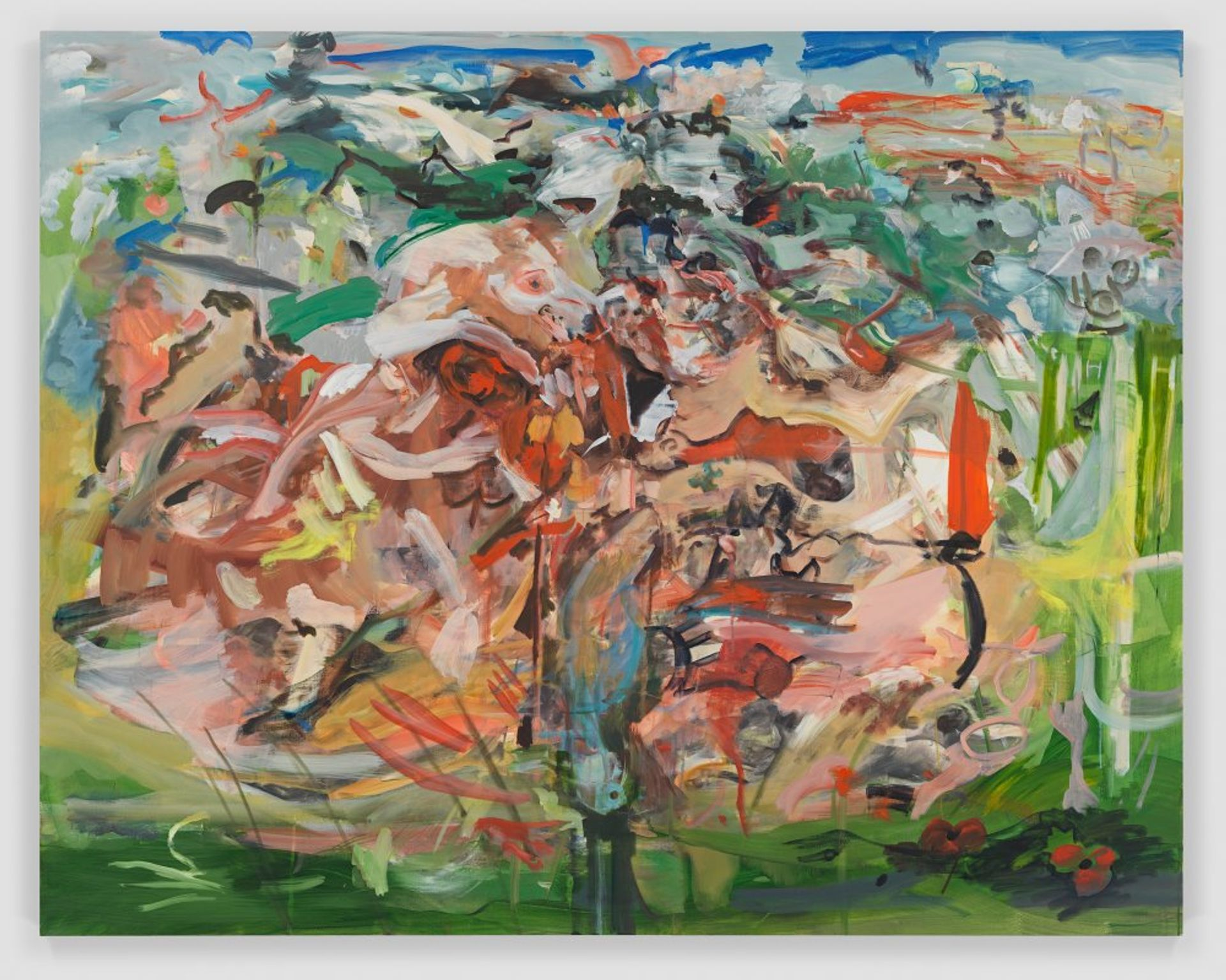 Cecily Brown's There'll be bluebirds (2019) Courtesy of the artist and Thomas Dane Gallery
