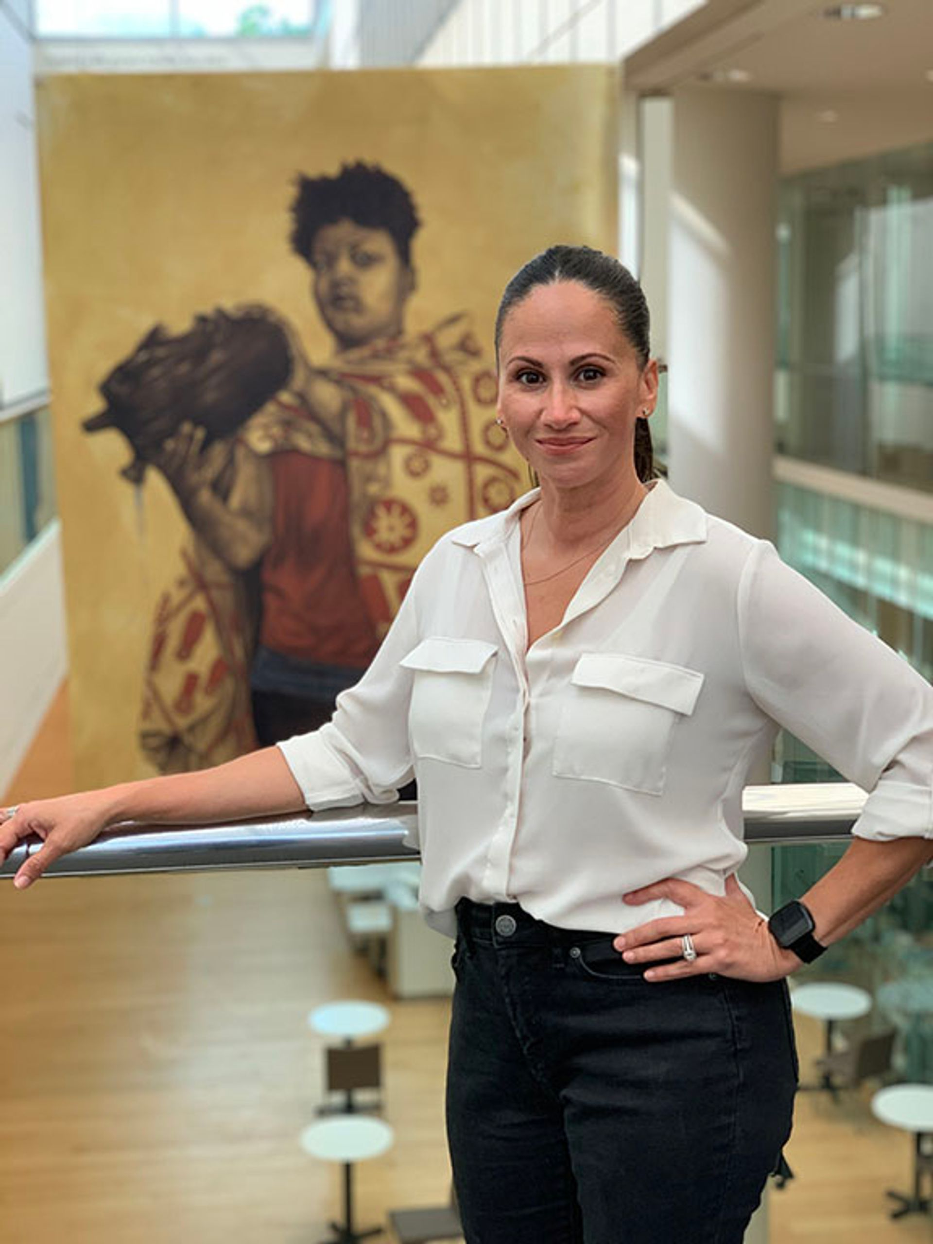 Rosa Rodriguez-Williams, the incoming senior director of belonging and inclusion at the Museum of Fine Arts, Boston Museum of Fine Arts, Boston