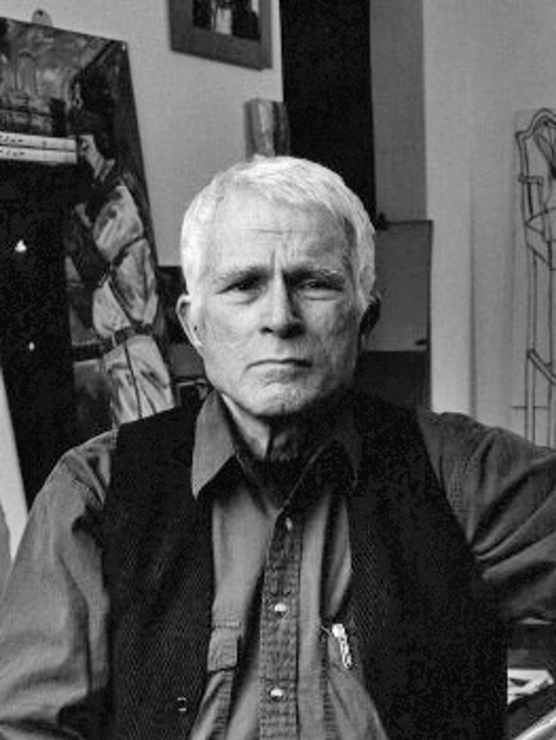 R.B. Kitaj, photographed by Fergus Greer National Portrait Gallery