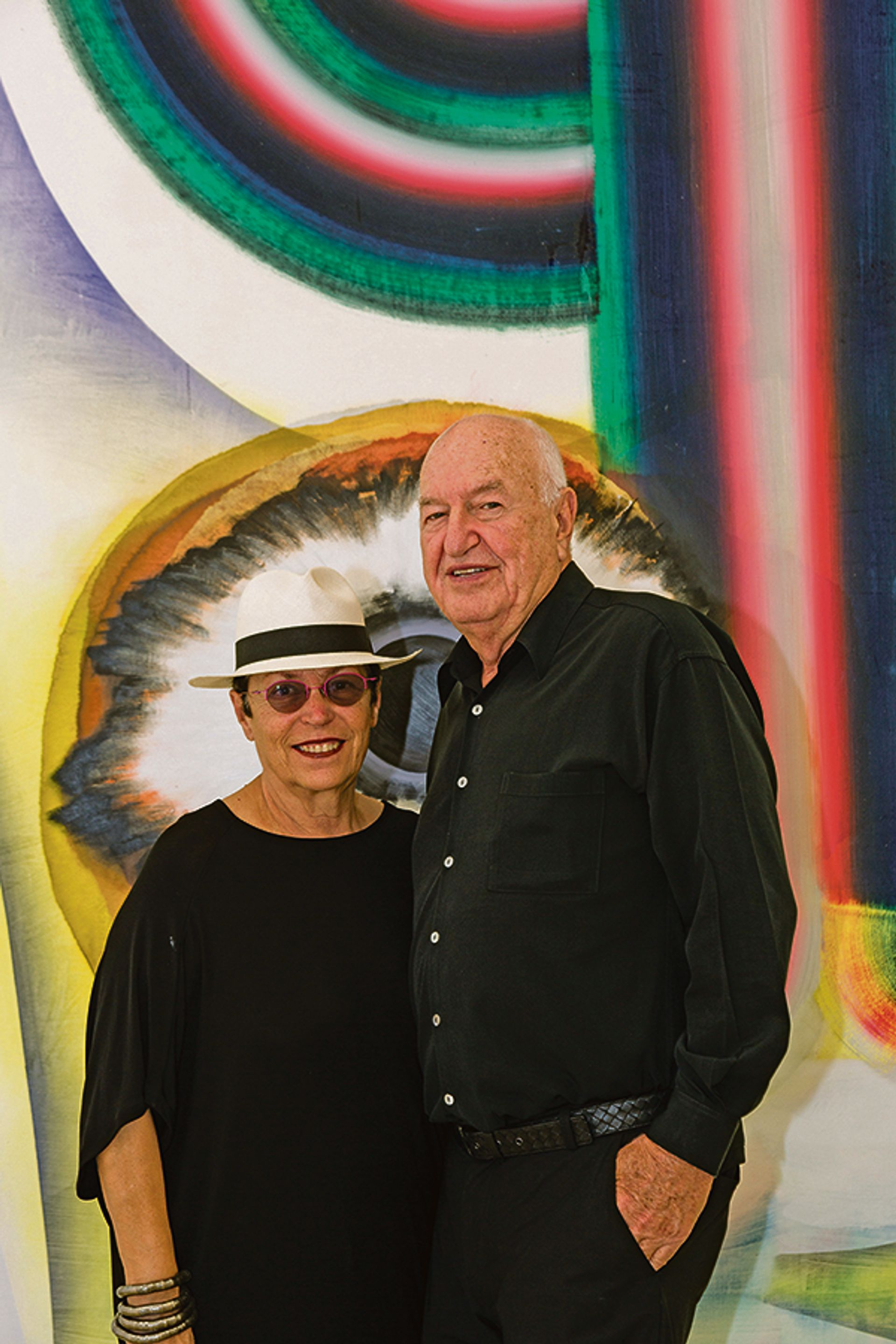Mera and Don Rubell courtesy of the Rubell Family Collection, Miami