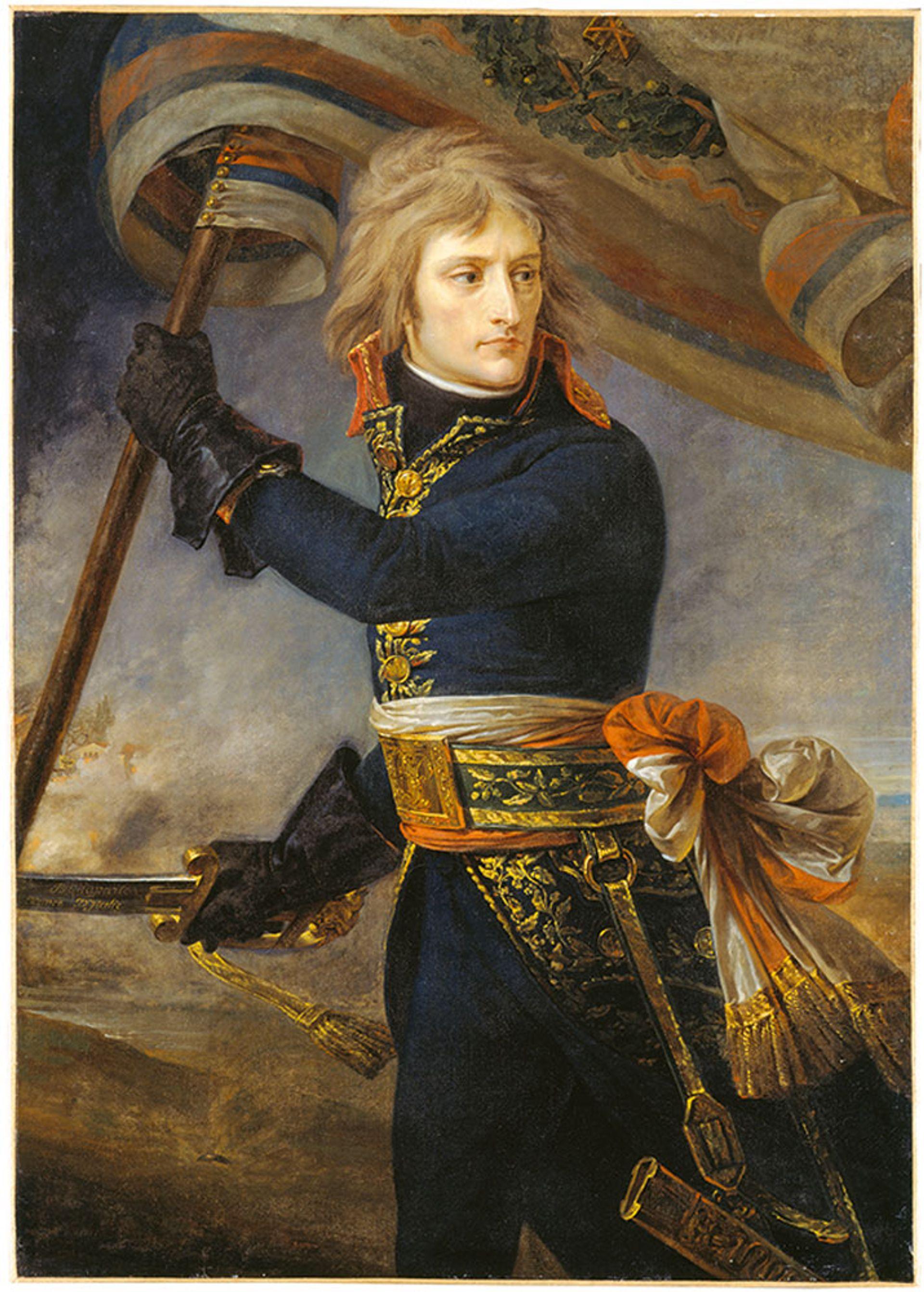Bonaparte on the Bridge of Arcola, November 17, 1796 (1796-97) by Antoine-Jean Gros Josse Fine Art/Diomedia Images