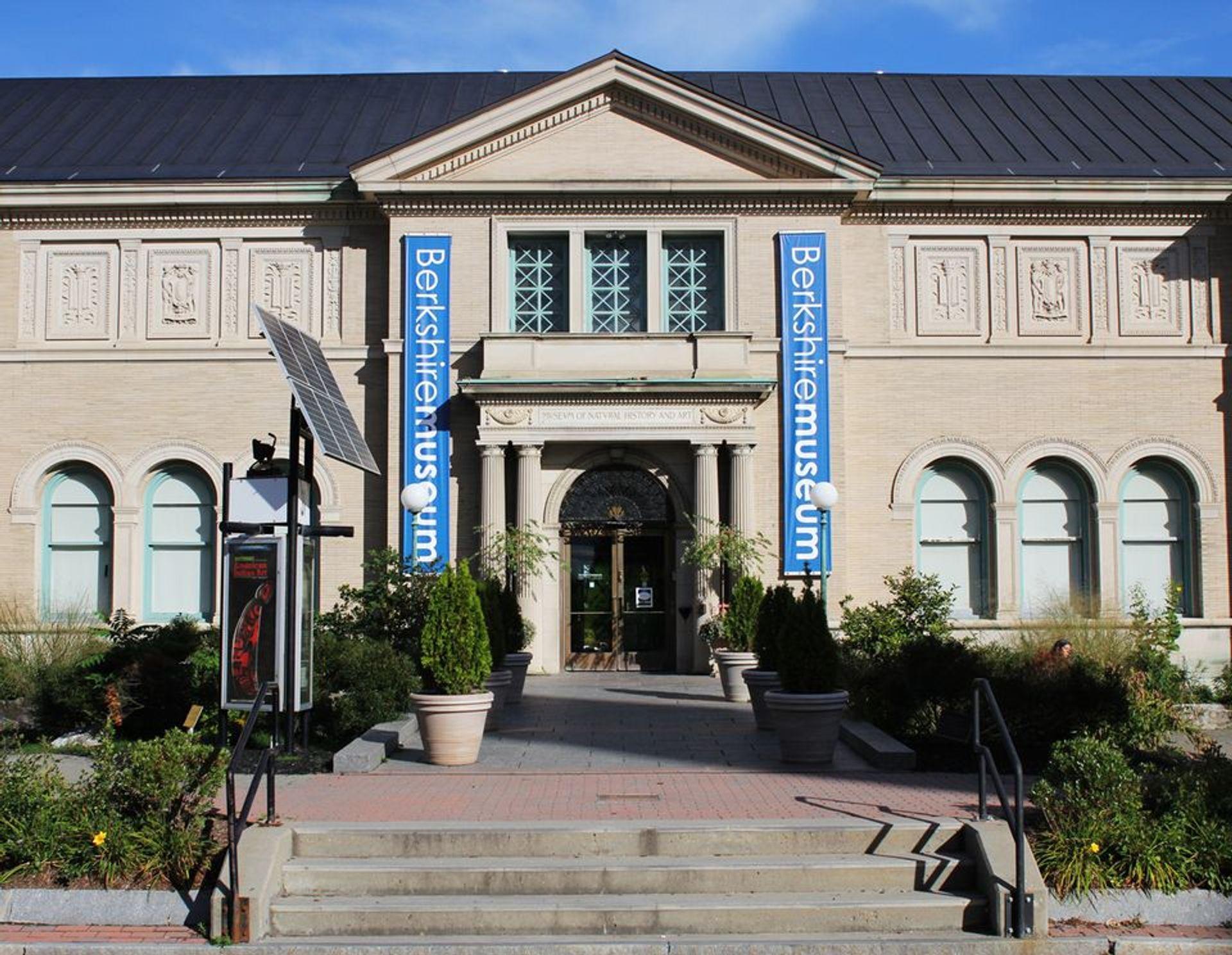 The Berkshire Museum in Pittsfield, Massachusetts