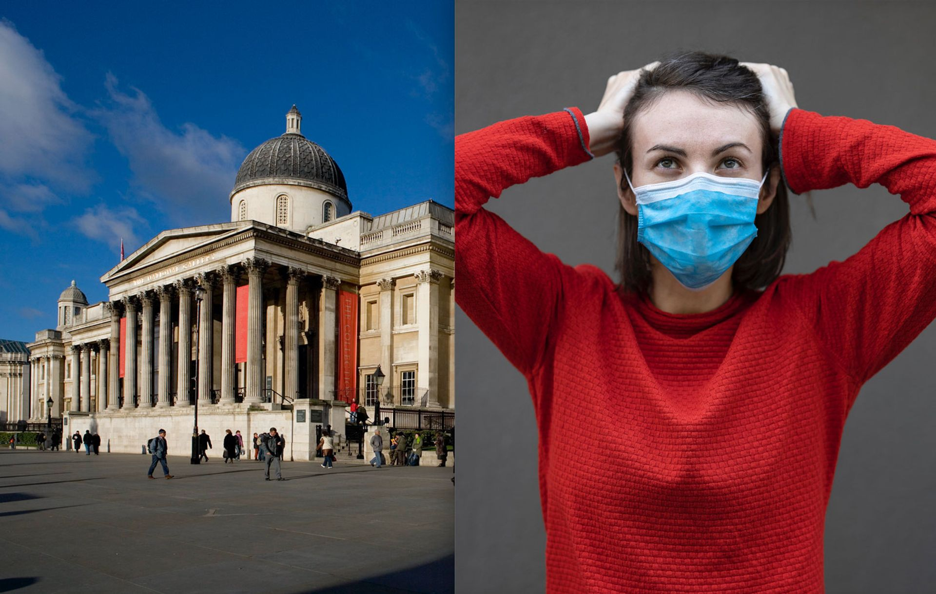 As museums such as London's National Gallery reopen this month, is the British public ready to visit them again? Left: © The National Gallery, London. Right: Photo: Engin Akyurt