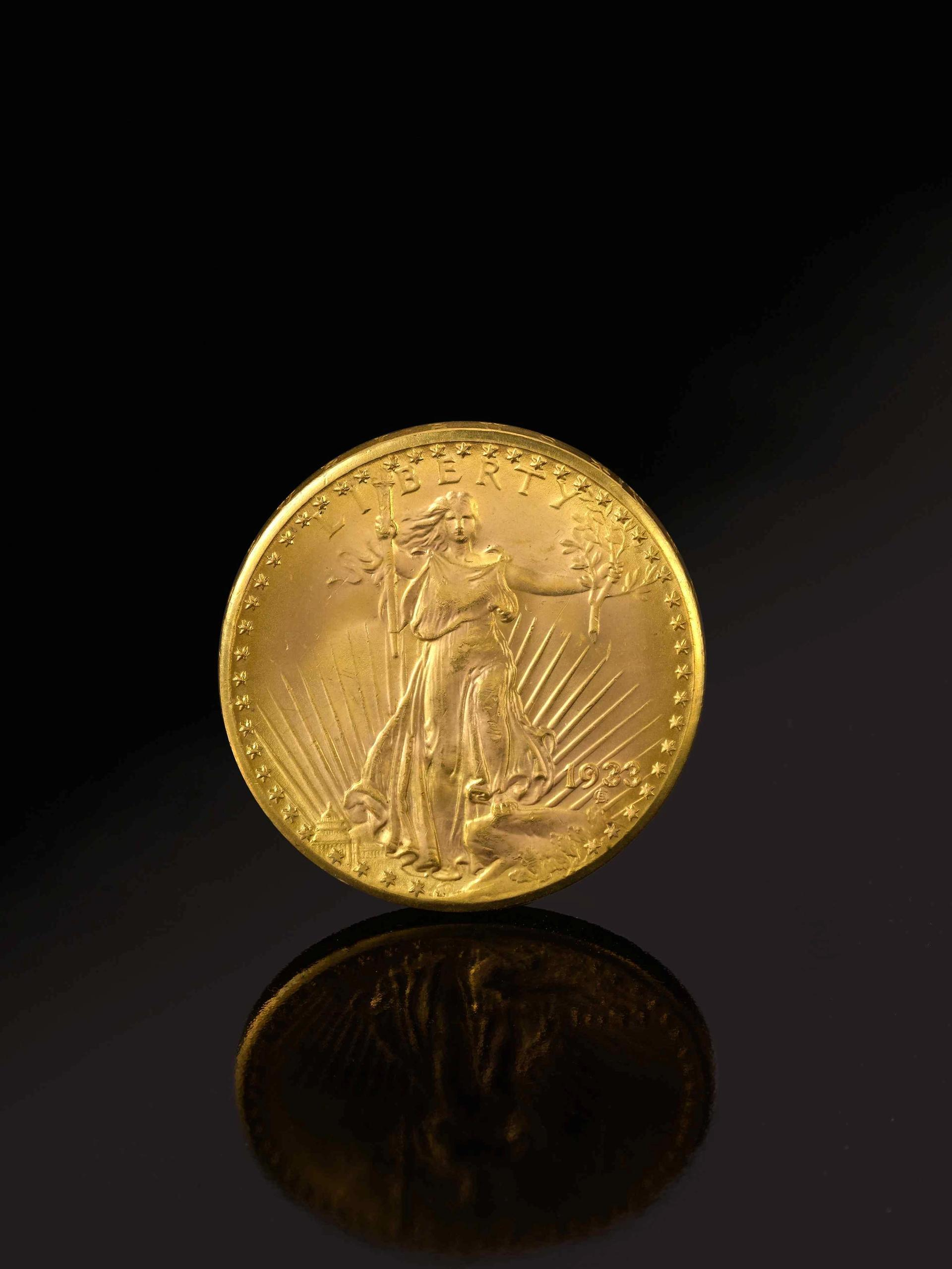 The 1933 Double Eagle Coin Courtesy of Sotheby's. Photography by SquareMoose