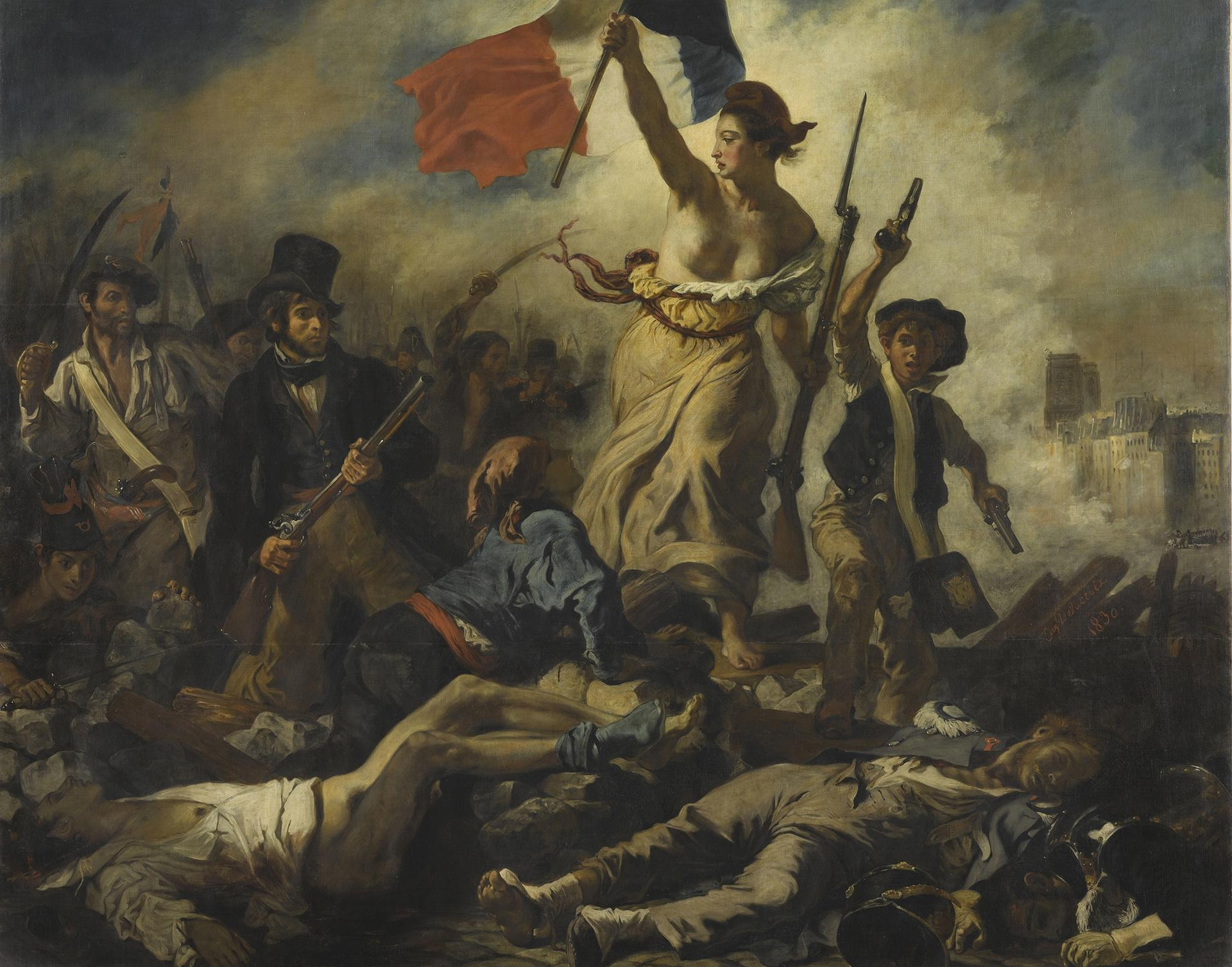 Liberty Leading the People (1831) saw Delacroix play iconographer of the French state Musée du Louvre / Michel Urtado