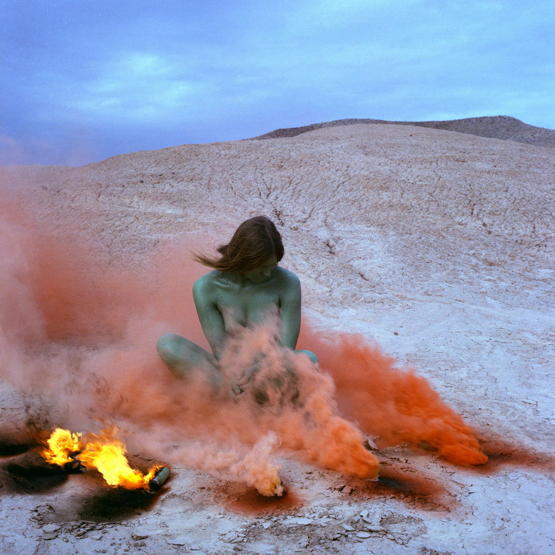Judy Chicago, Immolation from Women and Smoke, 1972 © Judy Chicago/Artists Rights Society (ARS), New York. Photo courtesy of Through the Flower Archives, the artist, Salon 94 and Jessica Silverman Gallery