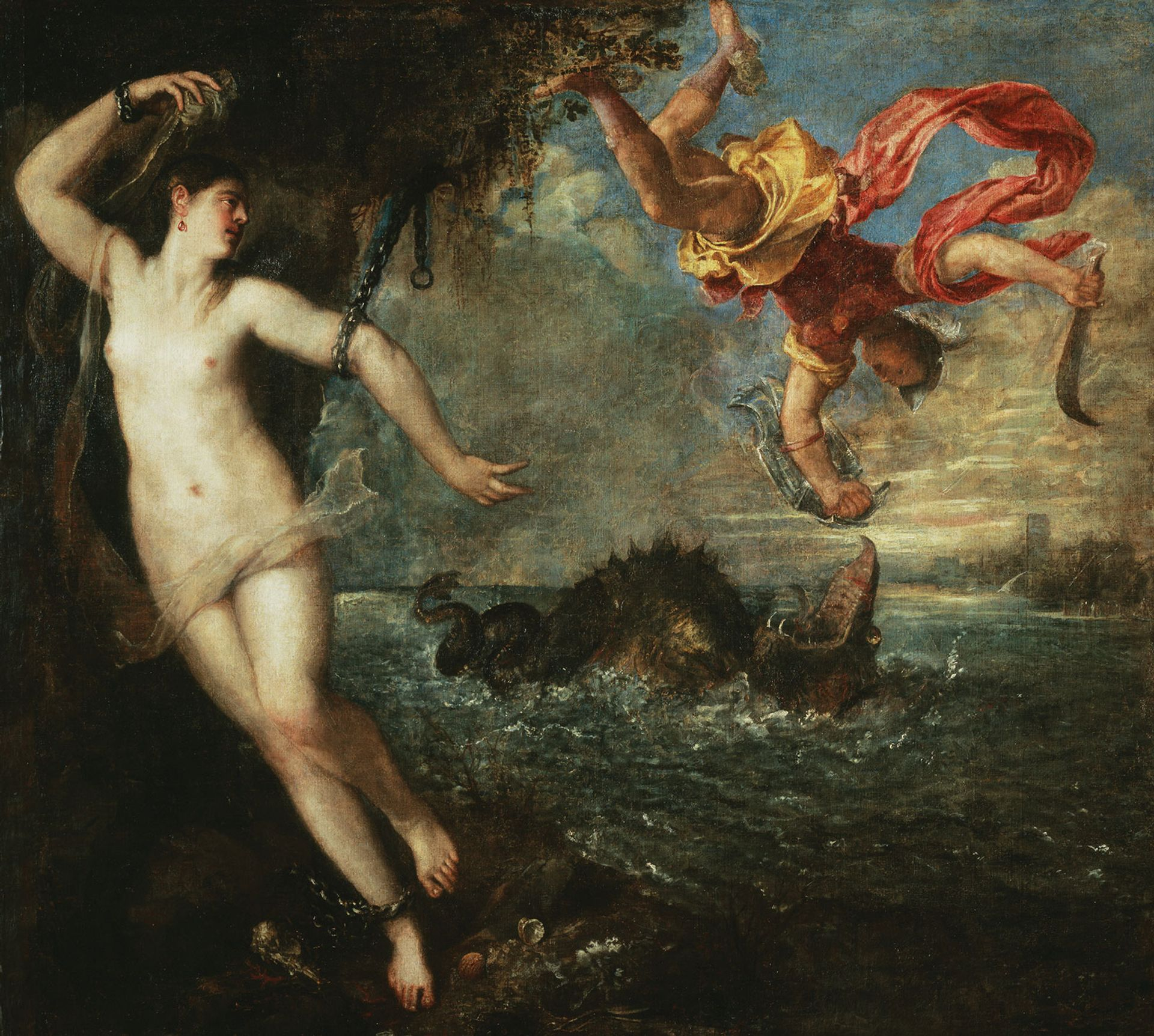 Titian's  Perseus and Andromeda (around 1554-56) will be back on show at the National Gallery in London © The Wallace Collection, London / Photo: The National Gallery, London