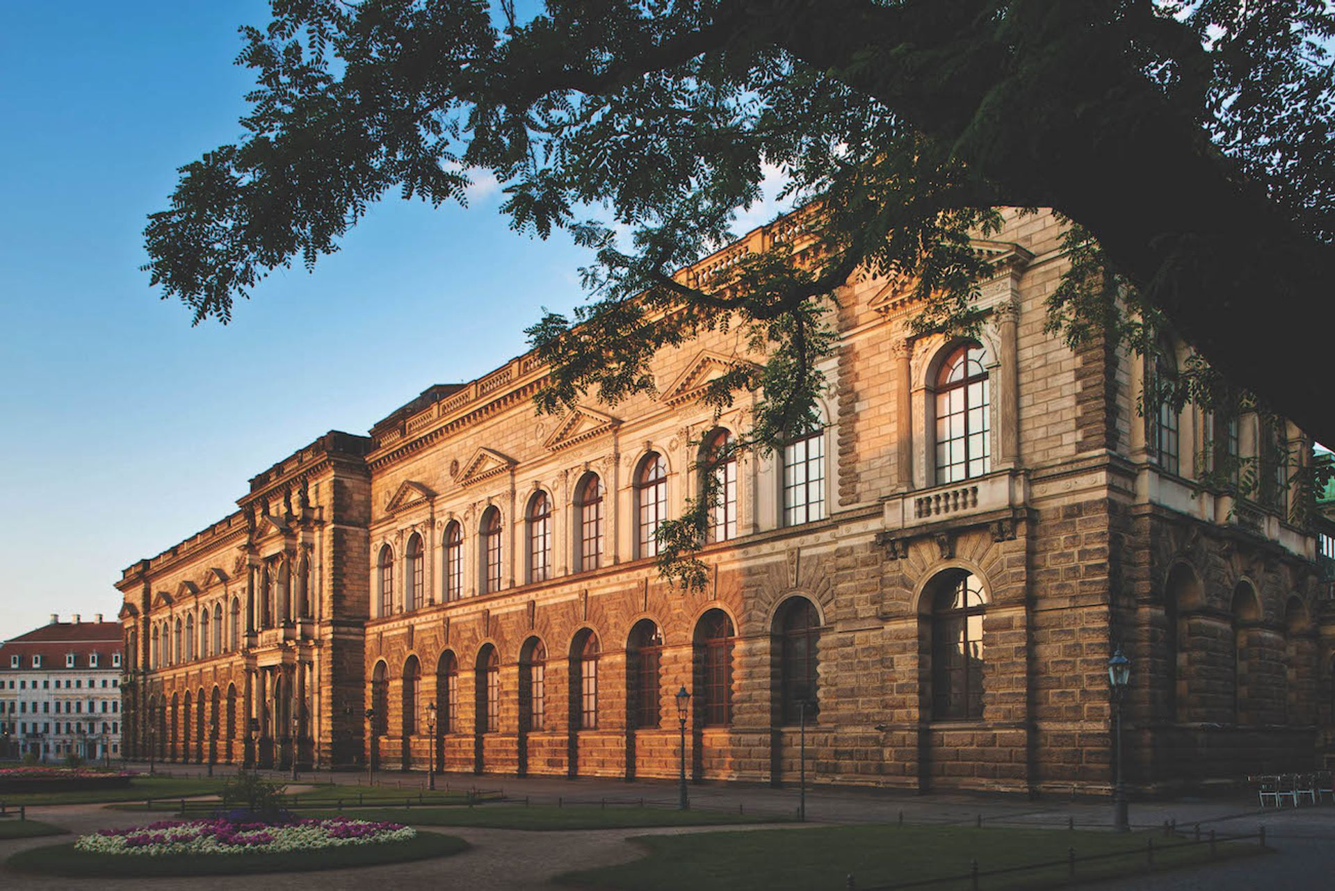 The renovated Semperbau am Zwinger in Dresden is due to open on 29 February © SKD; Photo: David Brandt