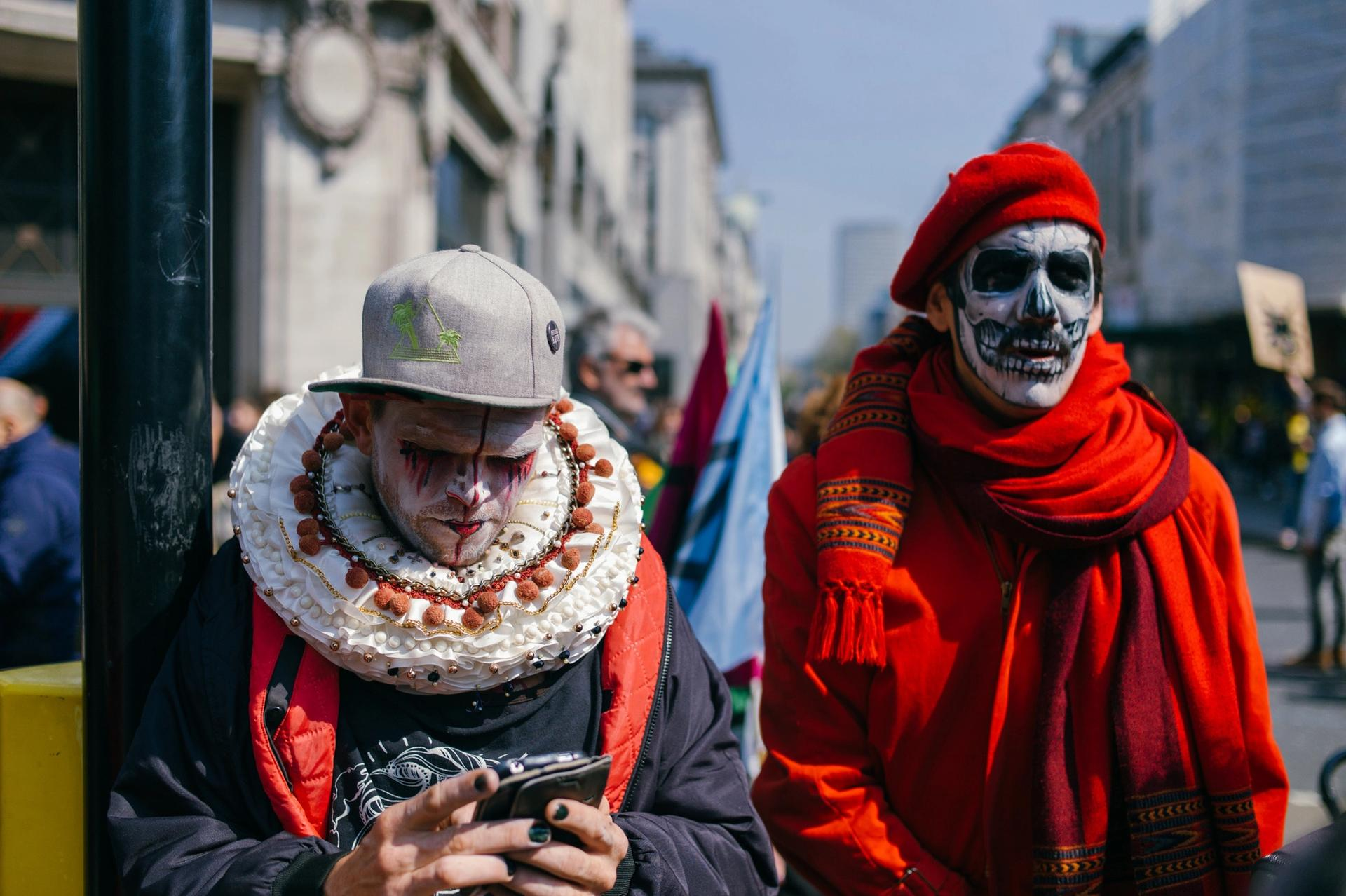 Extinction Rebellion activists have brought London to a standstill in recent days © Mikhail Mendelevitch