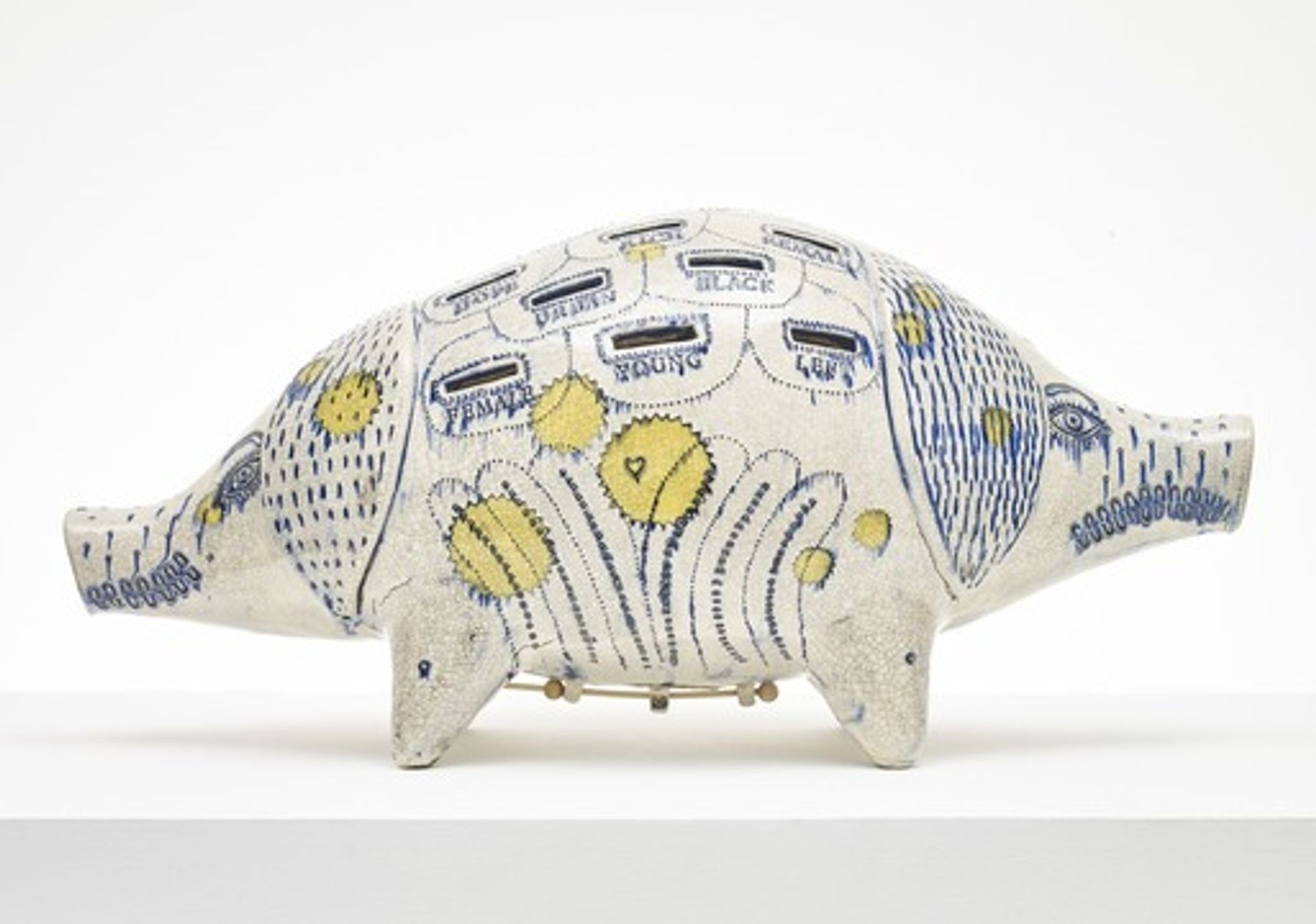 Grayson Perry, Long Pig (2017) (Courtesy the Artist, Paragon Press and Victoria Miro, London, Photography: Stephen White © Grayson Perry)