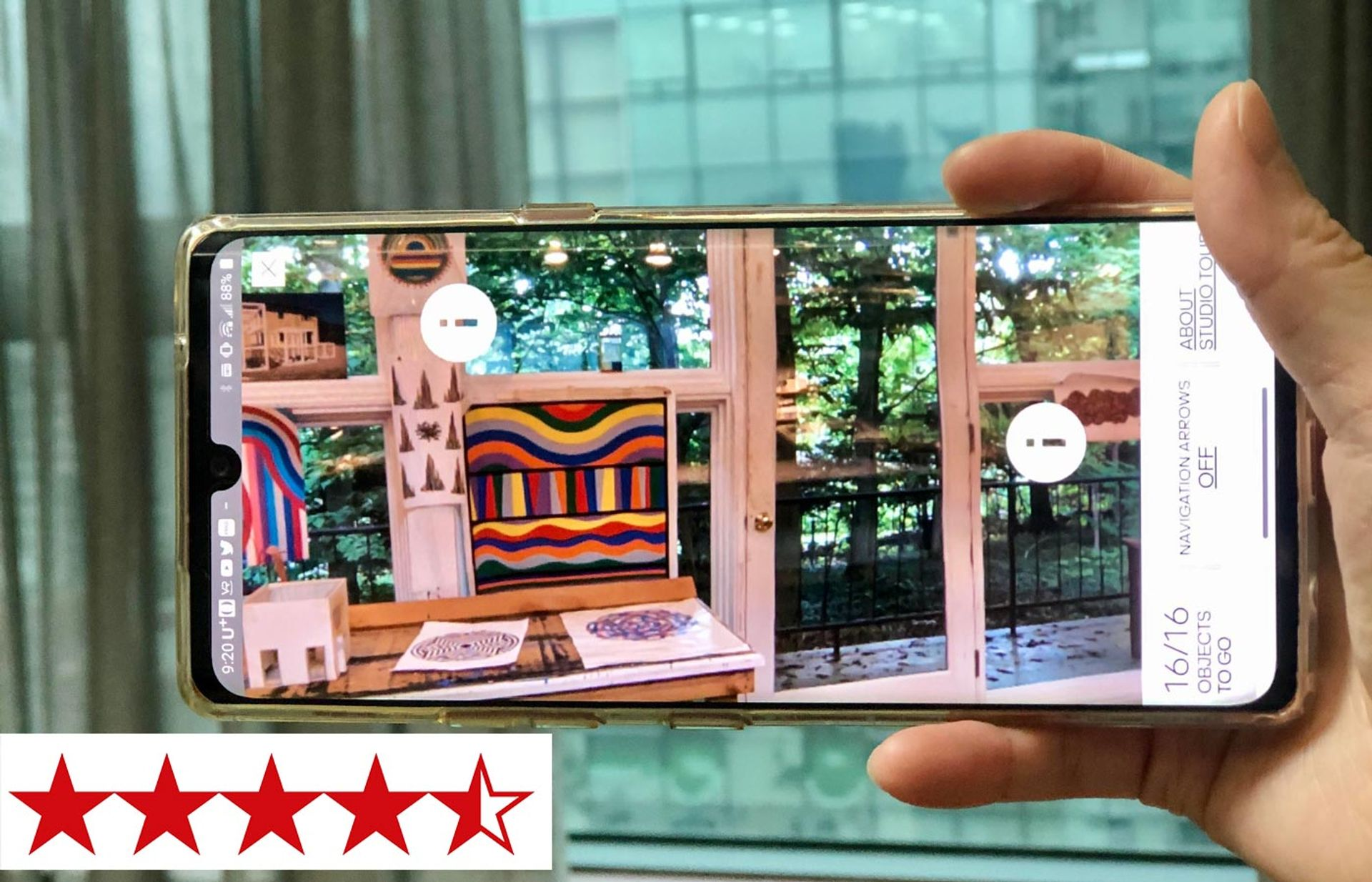 The Sol LeWitt AR app, authored and curated by the LeWitt specialist Lindsay Aveilhé, is available on the App Store and Google Play