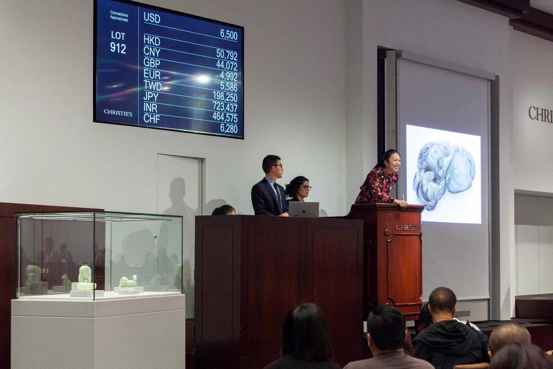 Christie's Asian Art Week sales in New York this September realised $34.7m. Collectors may have had to pay up to 25% more for works originating from China per Trump's original tariff proposal. © Christie's