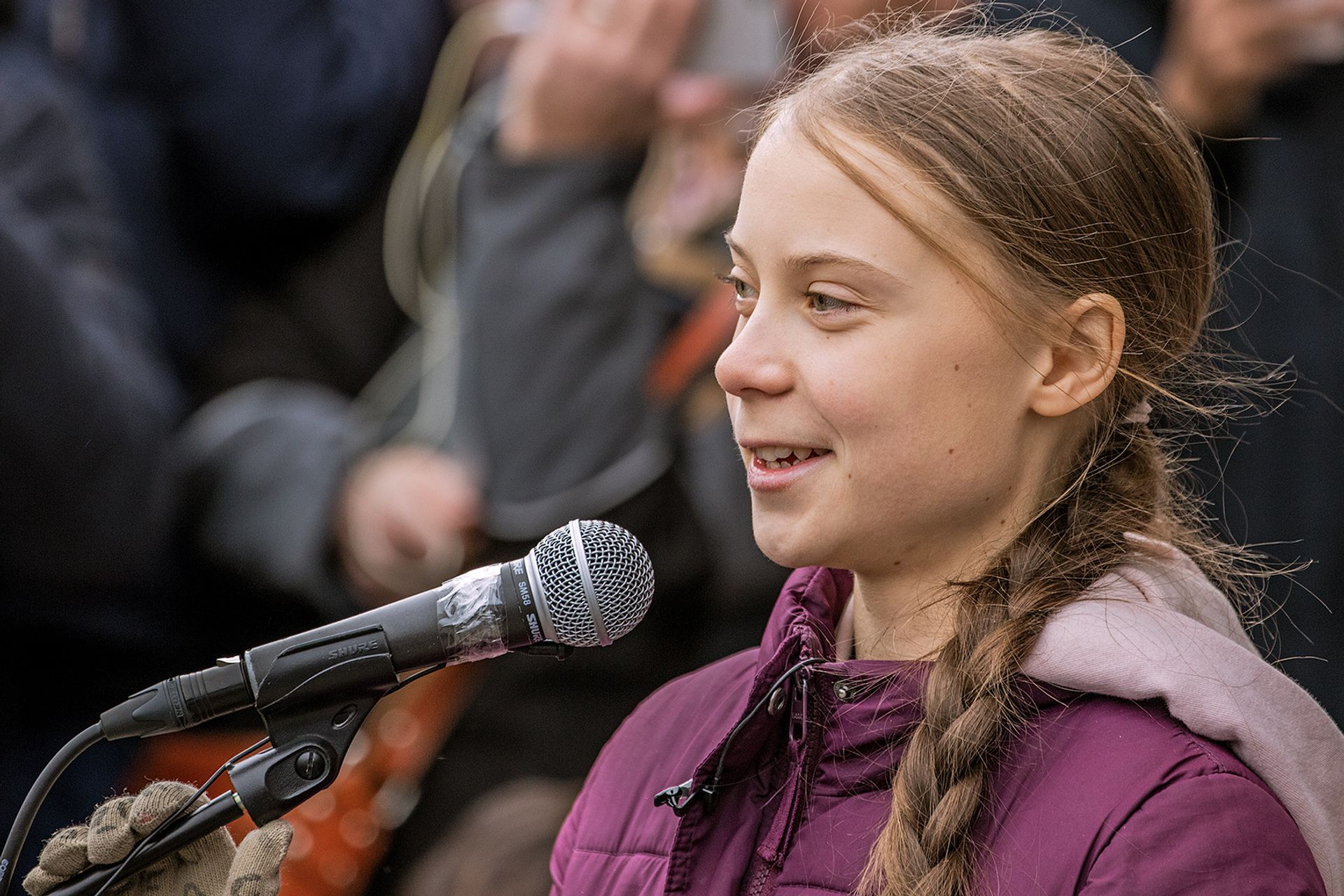 """Greta Thunberg tweeted last night that """"The 'Science' Museum just killed irony (and their own reputation)"""" over gagging order from Shell Photo: Markus Schweizer"""