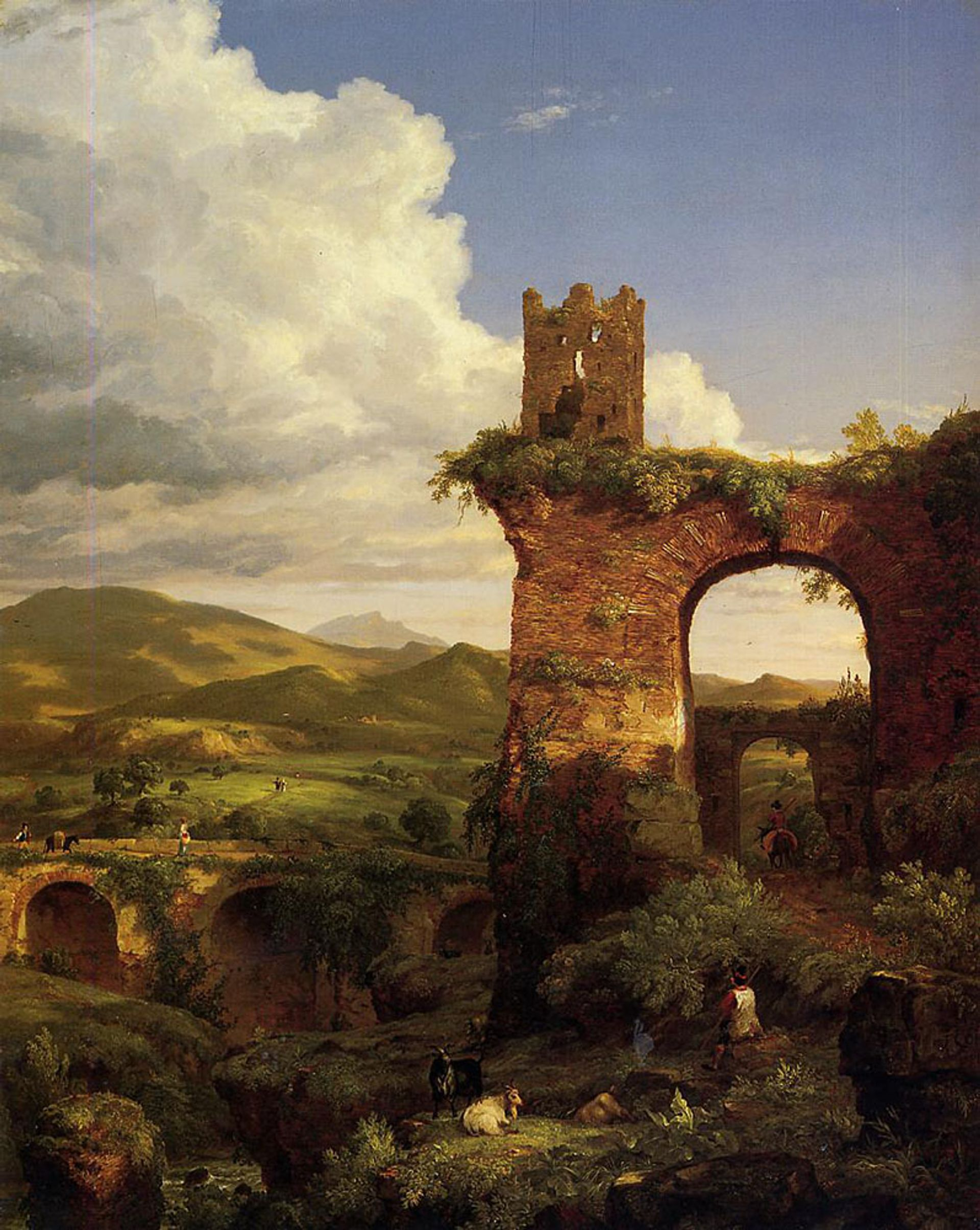 Thomas Cole's The Arch of Nero (1846), sold by the Newark Museum of Art