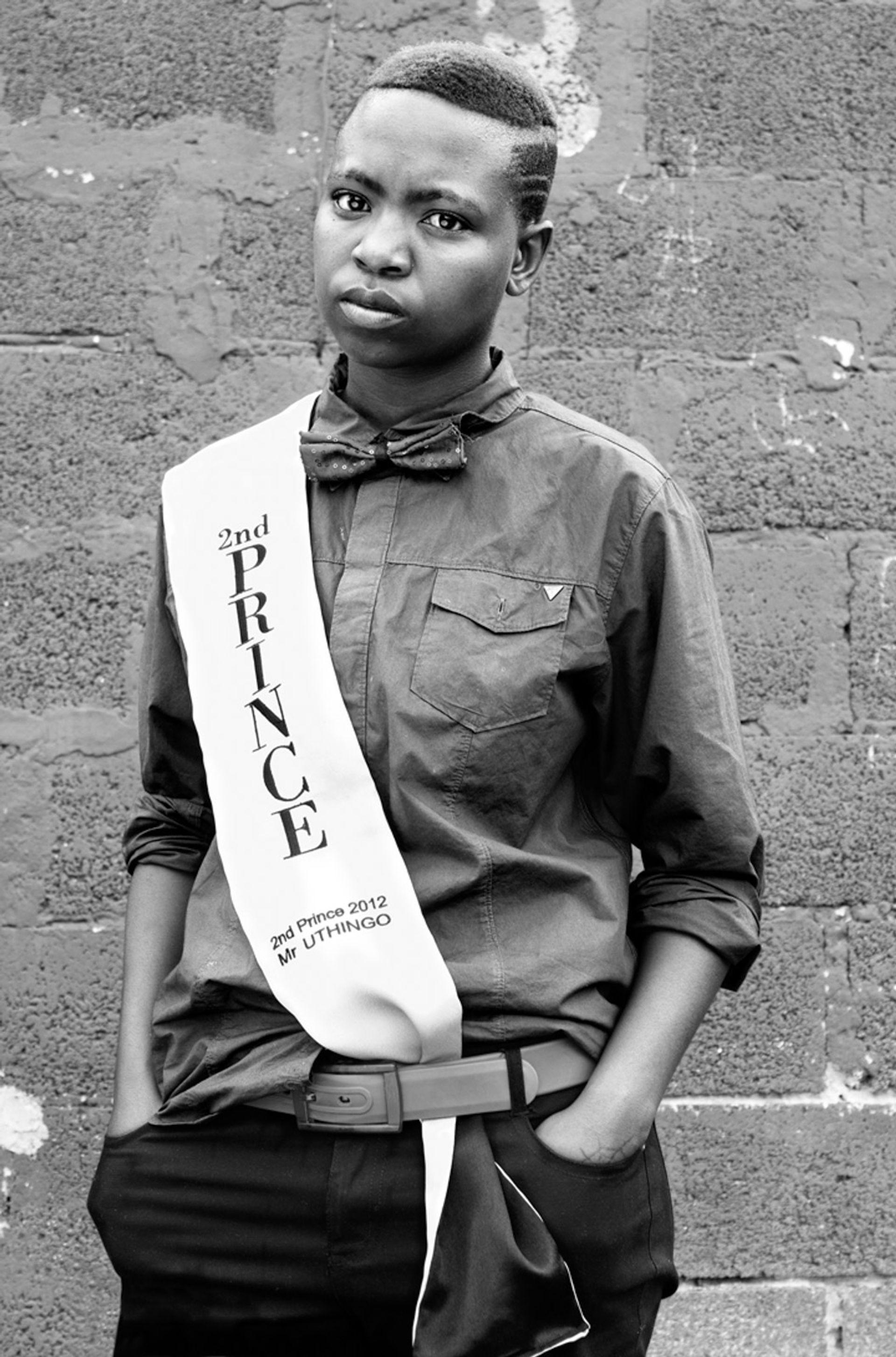 Zanele Muholi's Collen Mfazwe, August House, Johannesburg (2012) Zanele Muholi