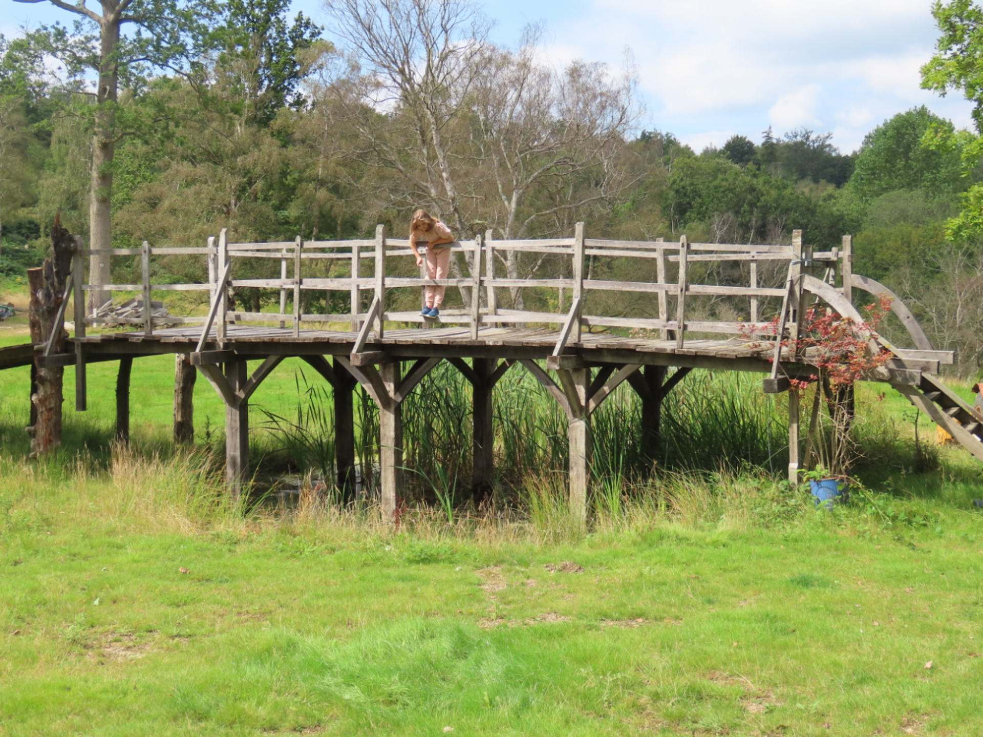The Poohsticks bridge  Courtesy of Summers Place Auctions