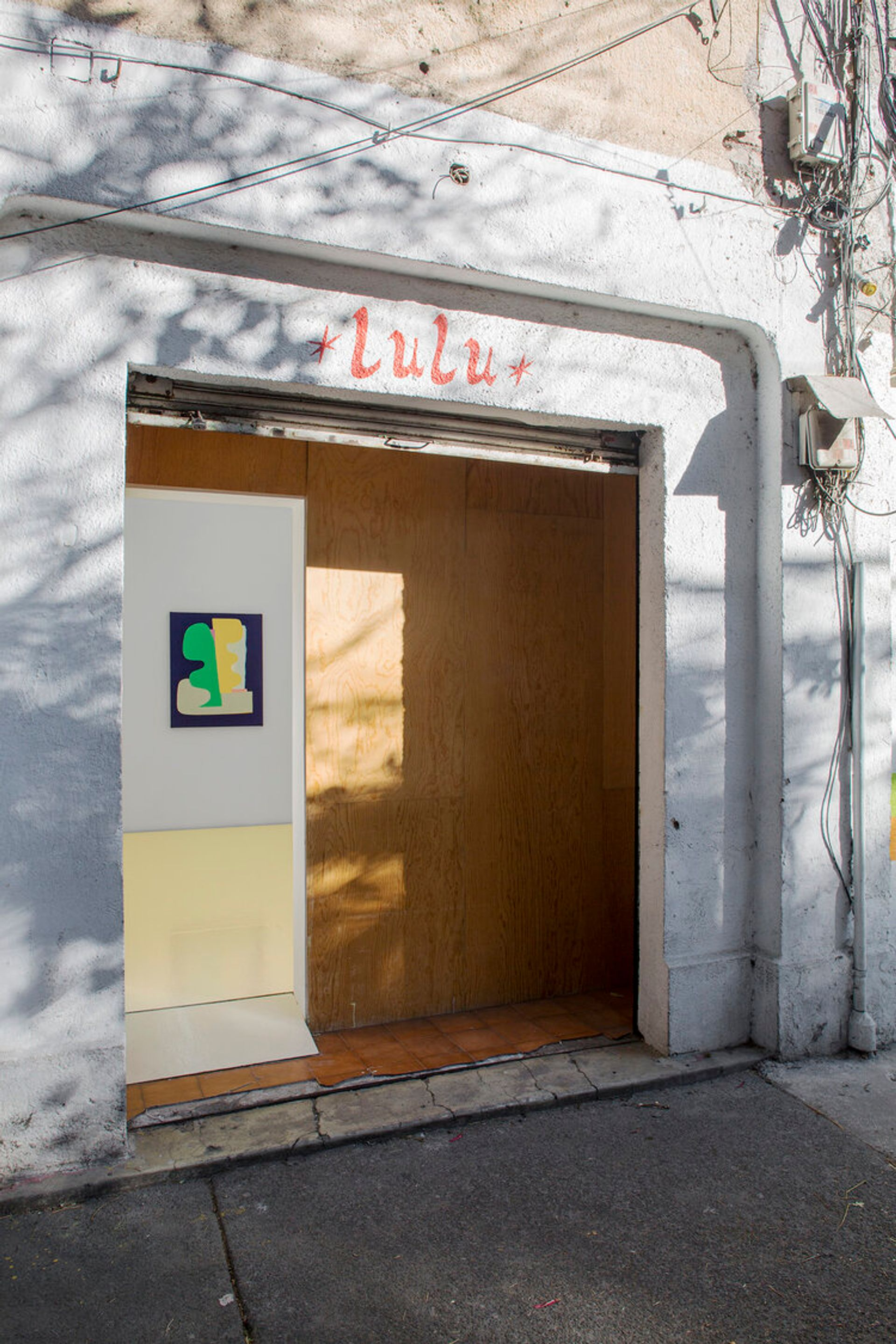 Lulu retains its original 100 sq. ft gallery space even after expanding in 2016. Courtesy of Lulu