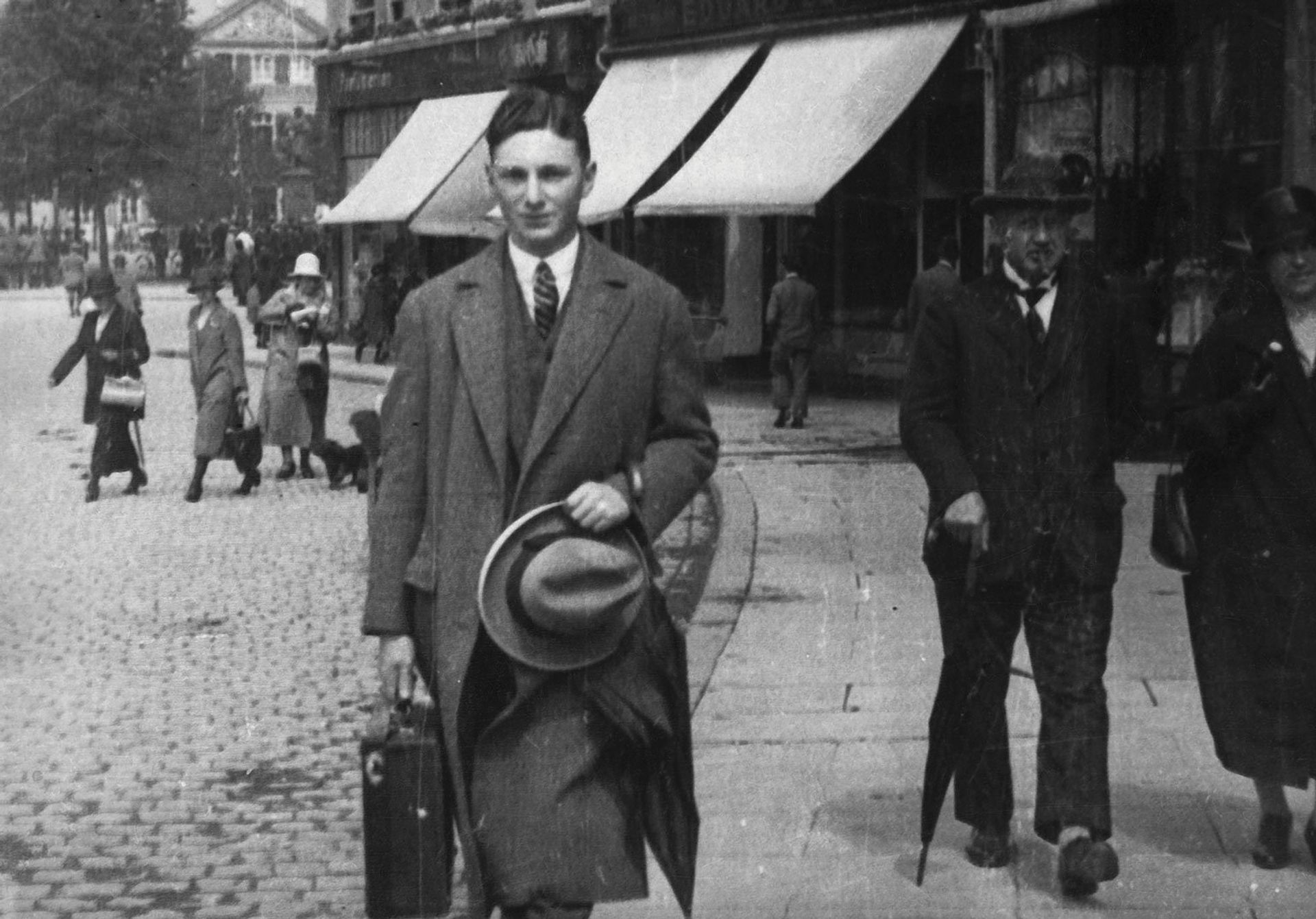 Within a few years of taking over his father's gallery in Dusseldorf, Max Stern, pictured here as a young man, would be forced to flee Nazi Germany. Courtesy of Max Stern Art Restitution Project