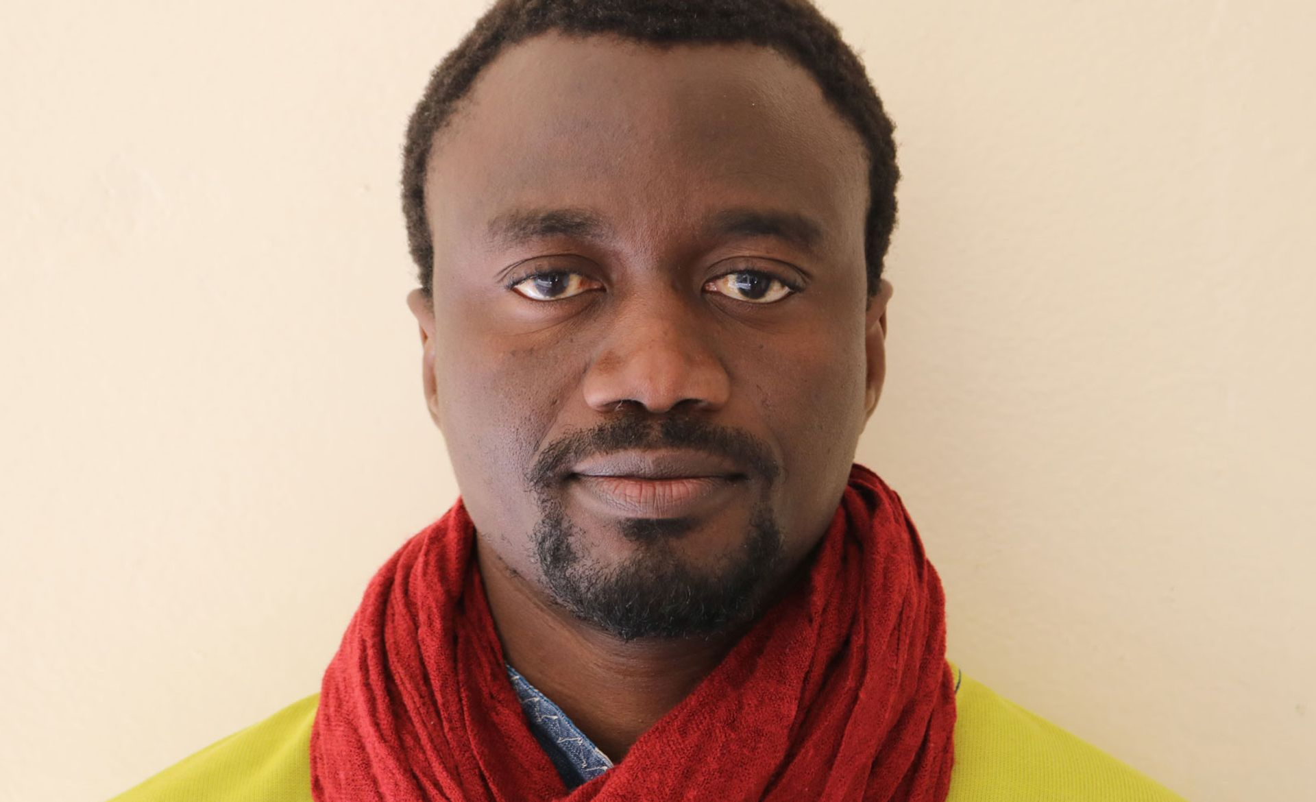 El Hadji Malick Ndiaye is an art historian and curator based in Dakar, Senegal Photo: Oumou
